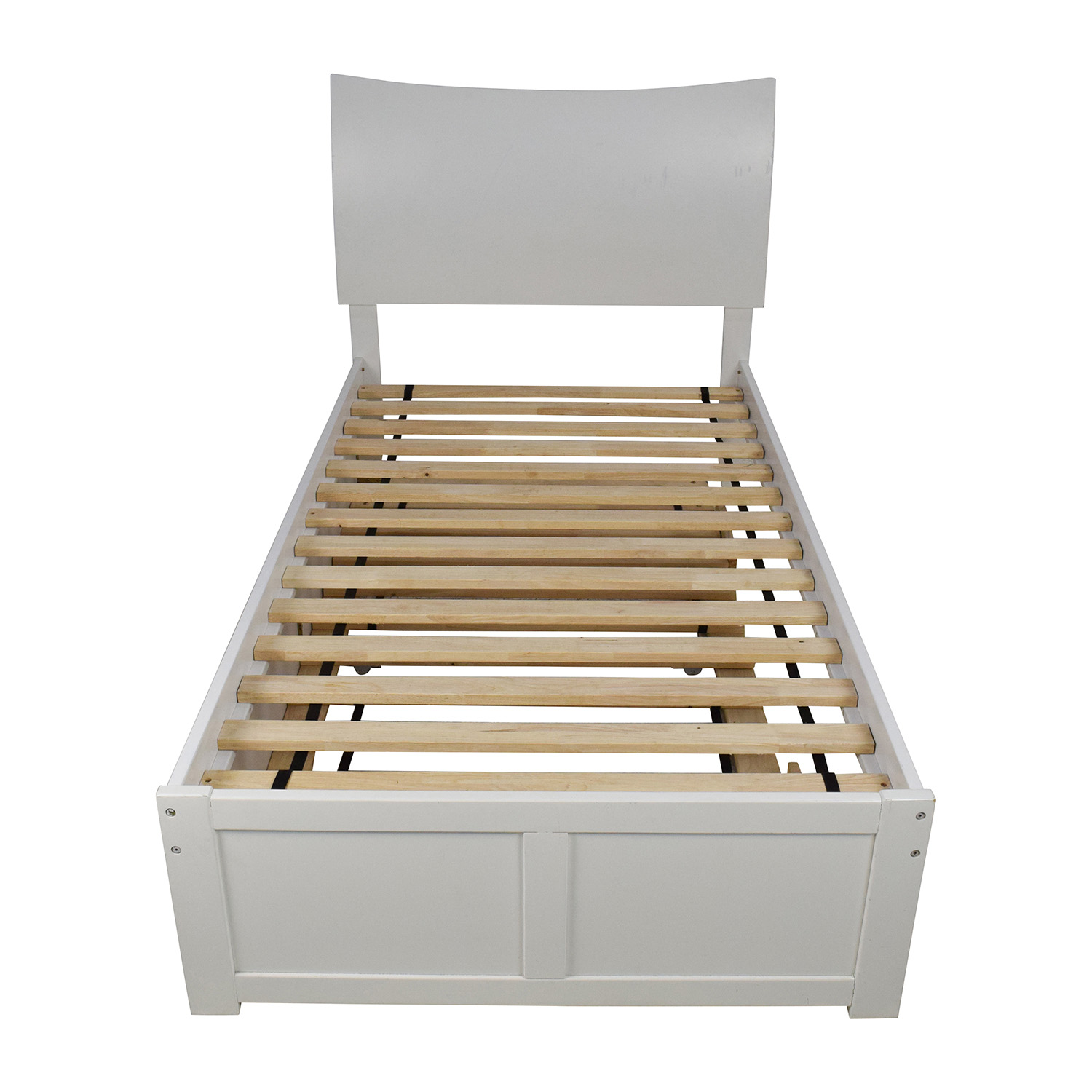 Atlantic Furniture Urban Lifestyle Soho Twin Bed with Trundle / Bed Frames