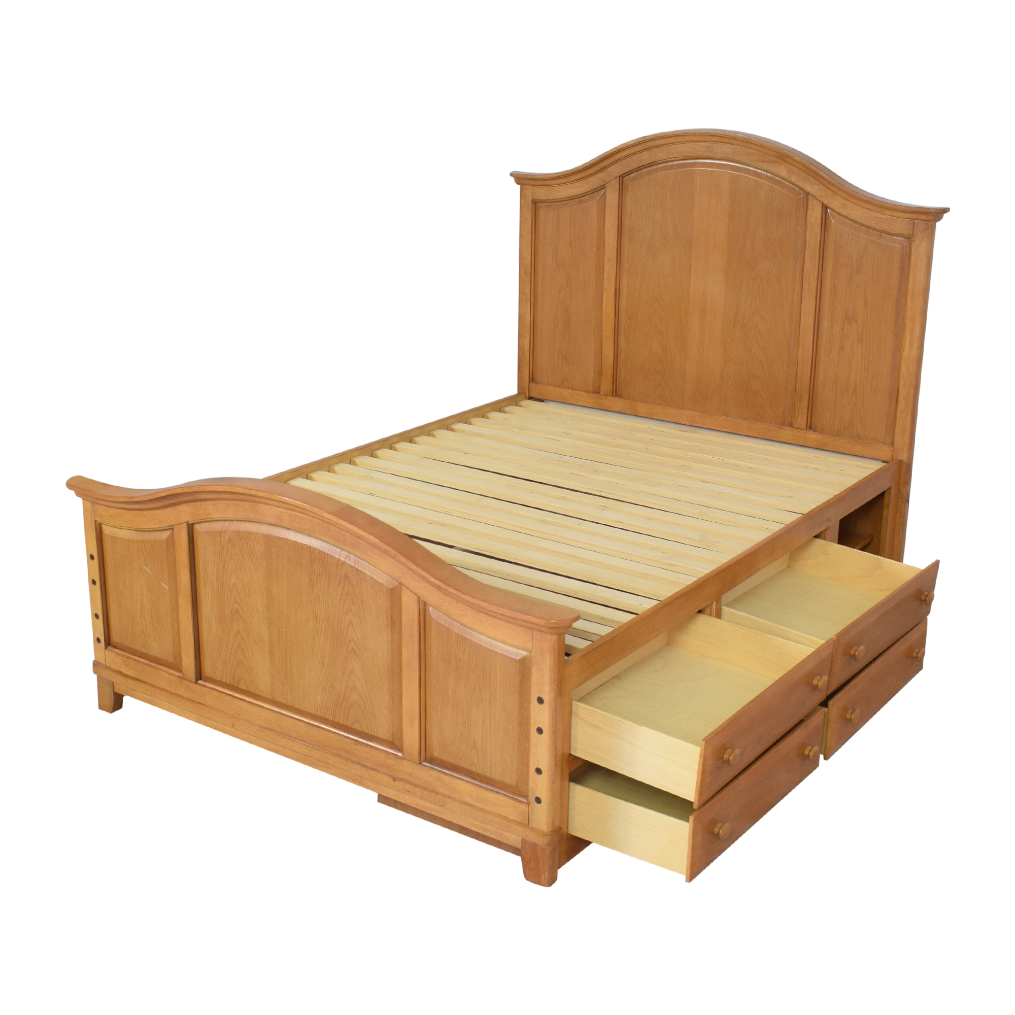 Raymour & Flanigan Full Bed with Storage sale