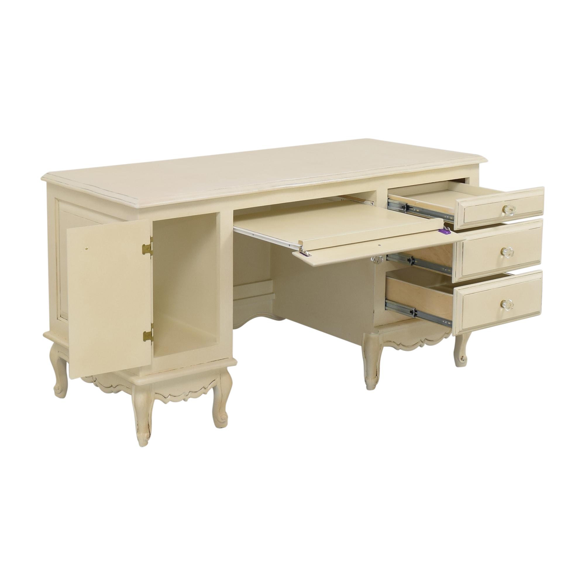 Bograd Kids Bograd Kids Desk with Cabinet and Drawers off white