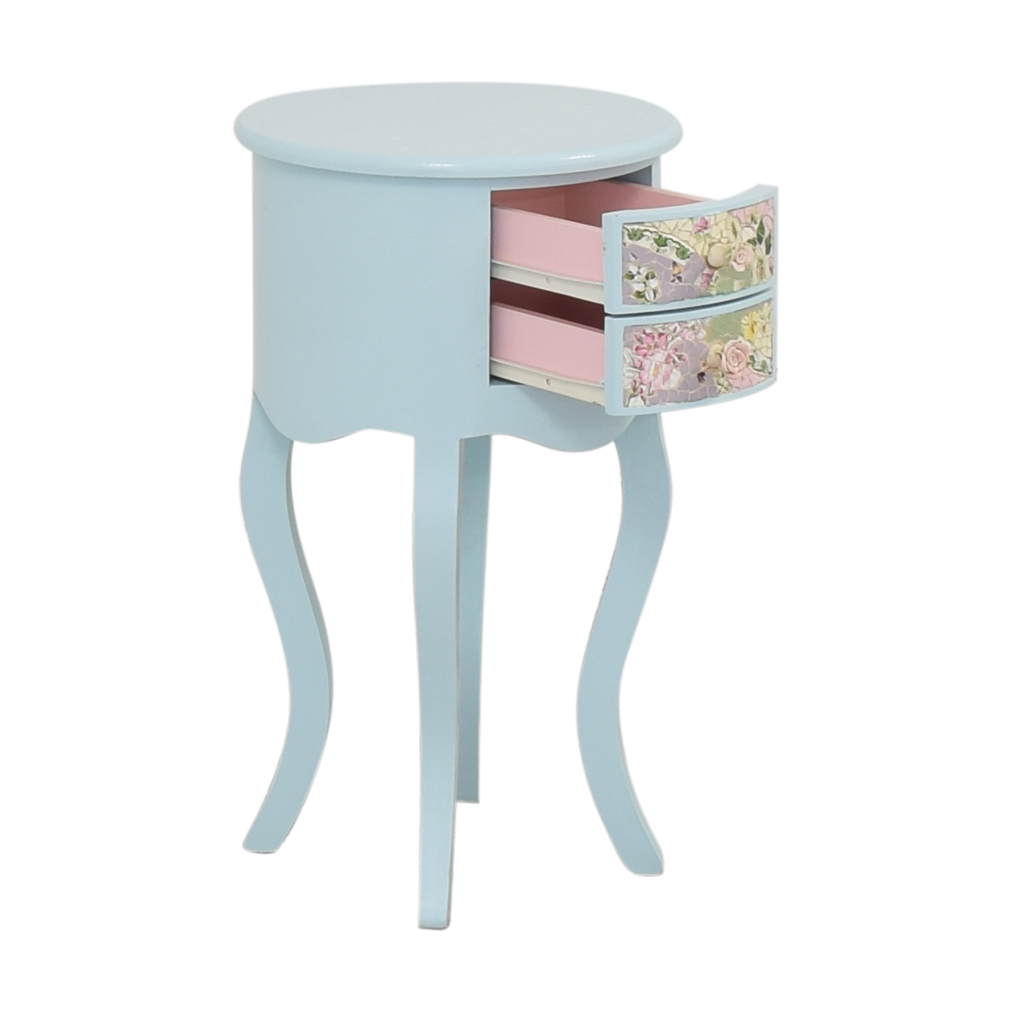 Mosaic Bedside Table End Tables