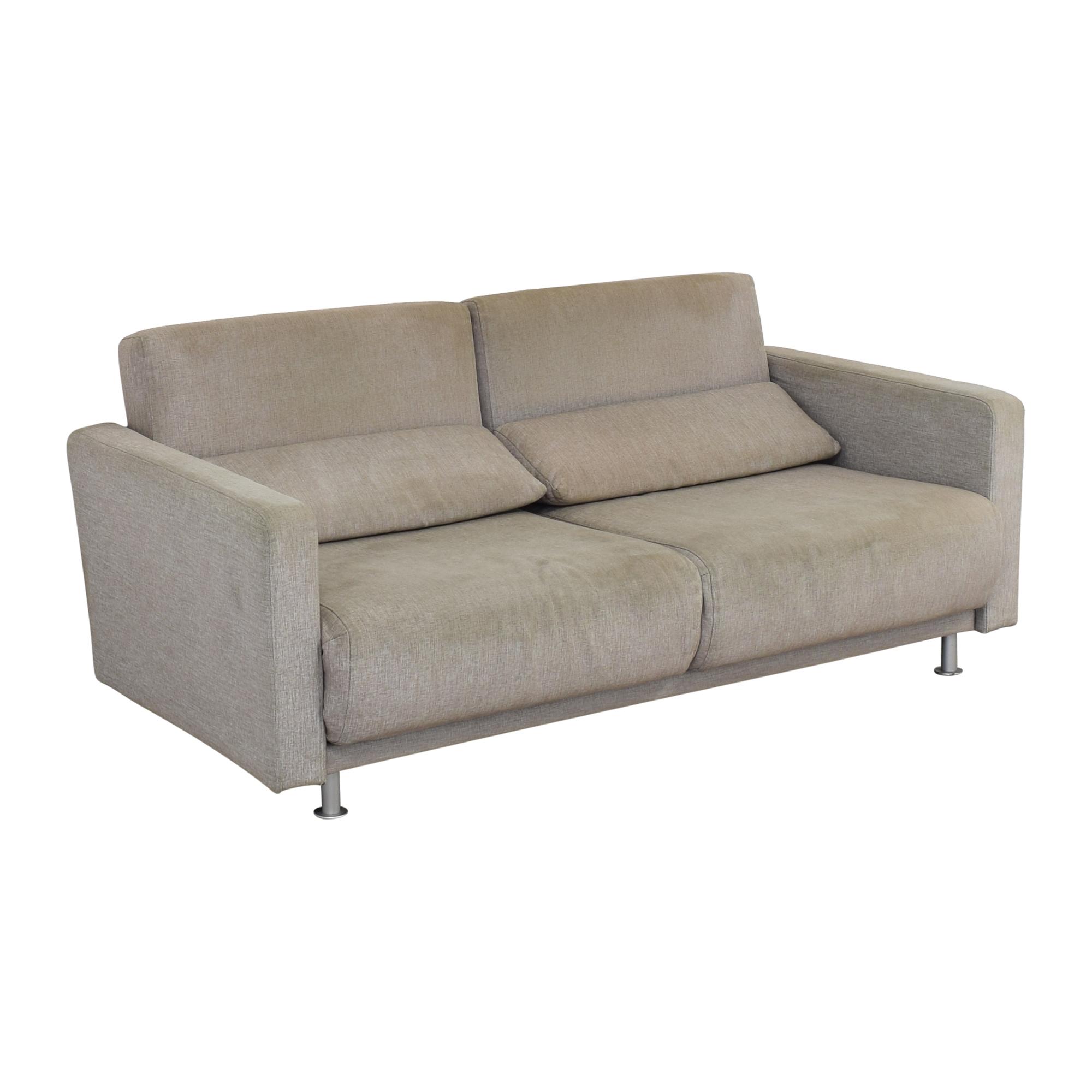 shop BoConcept Melo Grey Sofa Queen Bed BoConcept Sofas