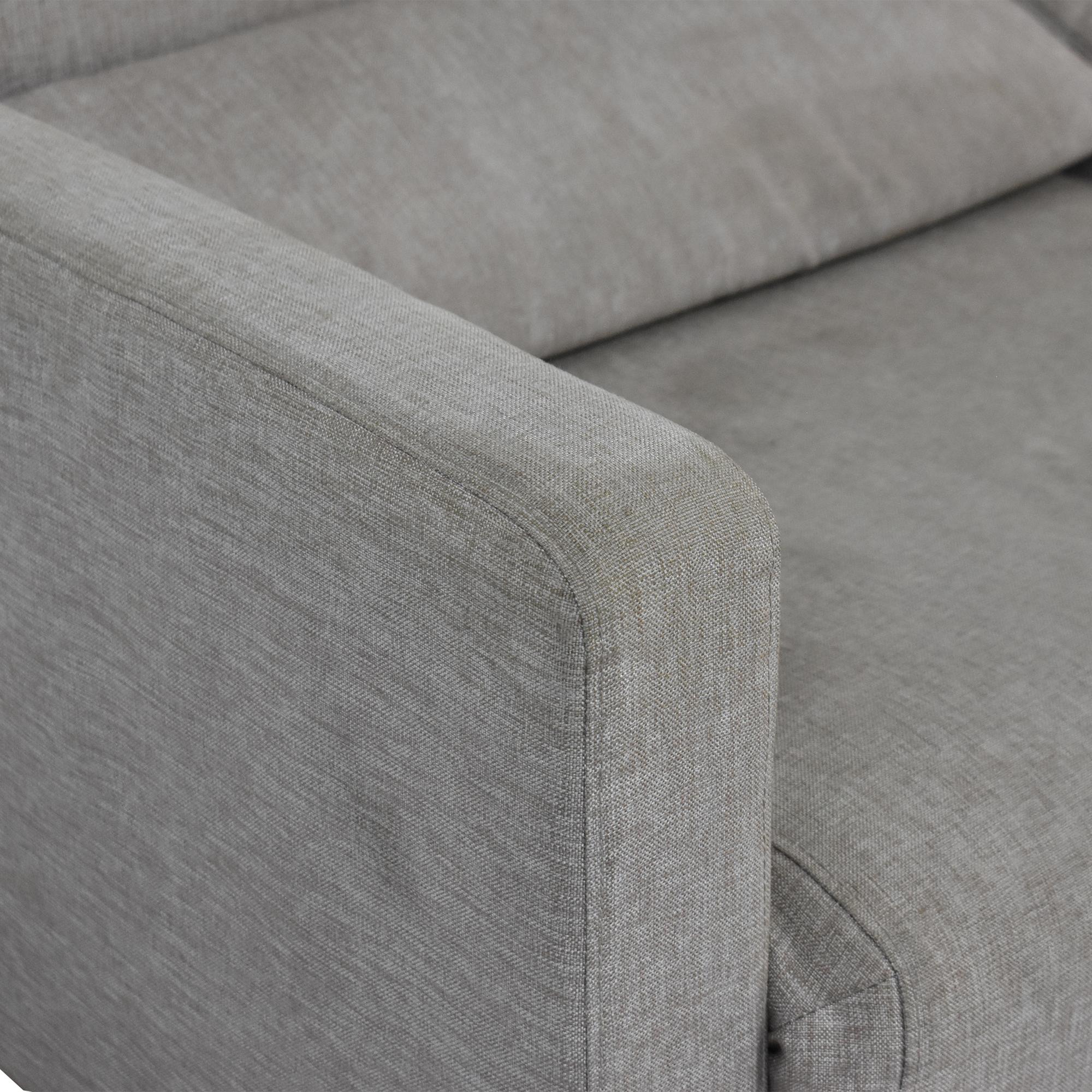 BoConcept Melo Grey Sofa Queen Bed / Sofa Beds