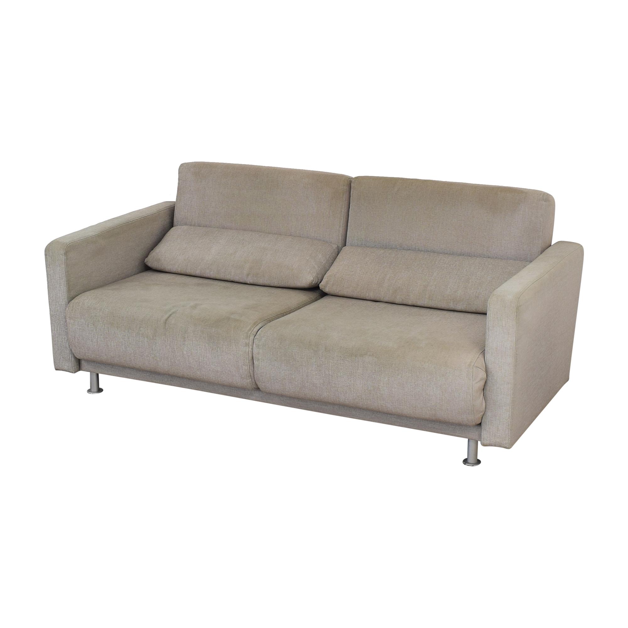 shop BoConcept Melo Grey Sofa Queen Bed BoConcept