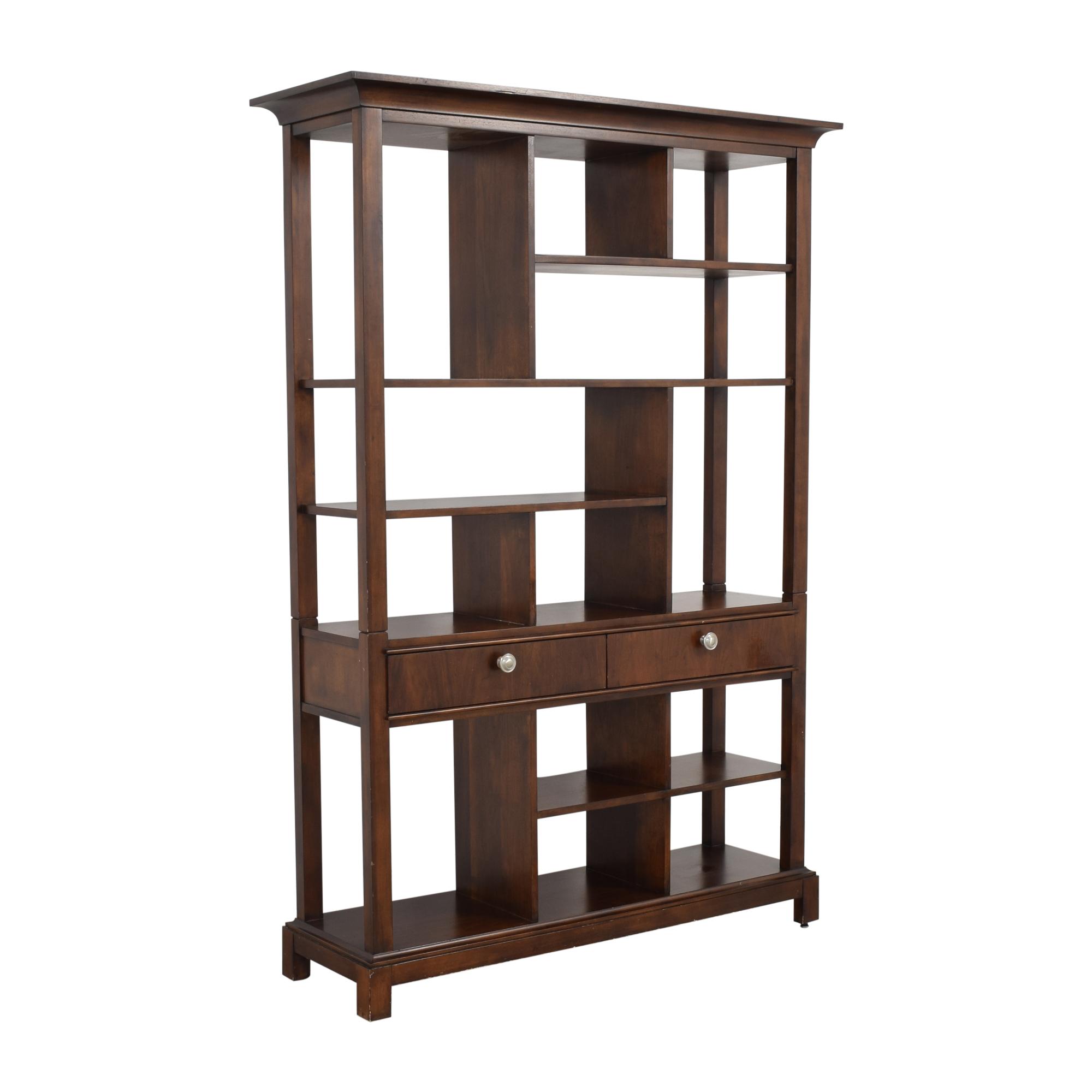 buy Stanley Furniture Etagere Bookcase Stanley Furniture Storage