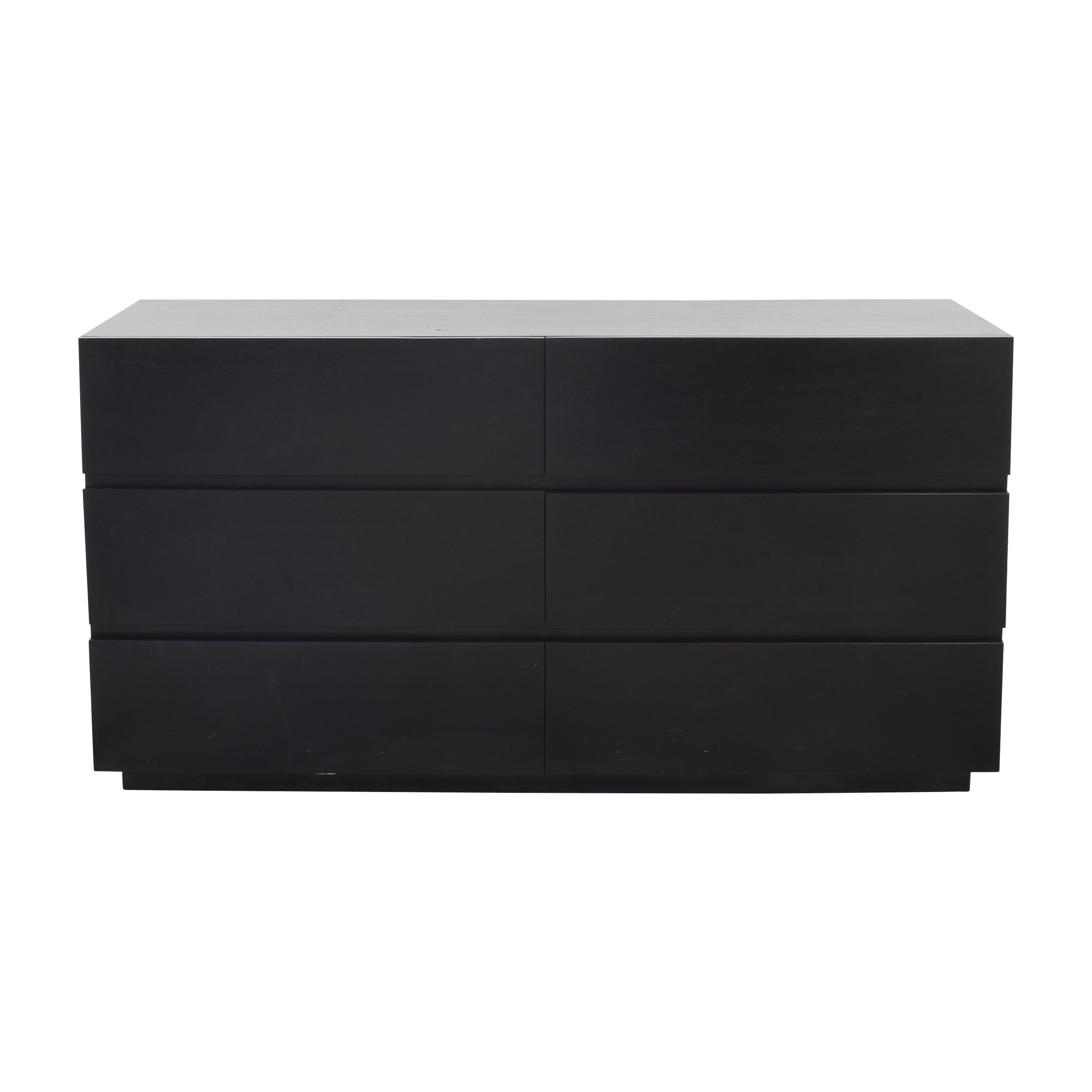 Crate & Barrel Crate & Barrel Pavillion 6-Drawer Dresser on sale