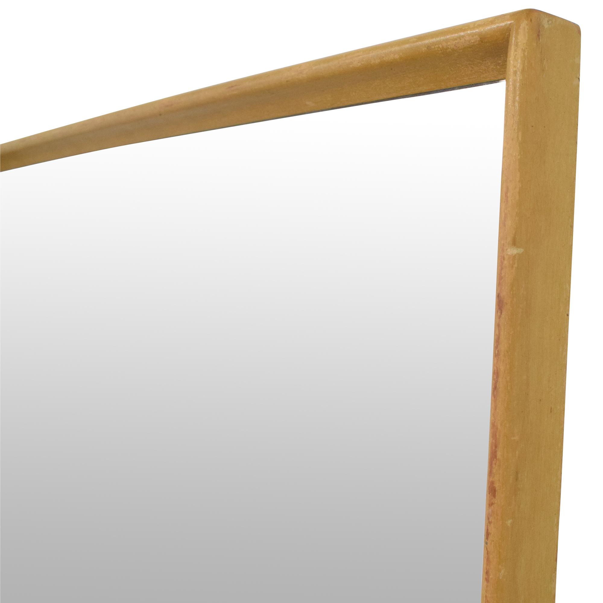 Heywood-Wakefield Heywood-Wakefield Encore Eight Drawer Dresser with Mirror Storage