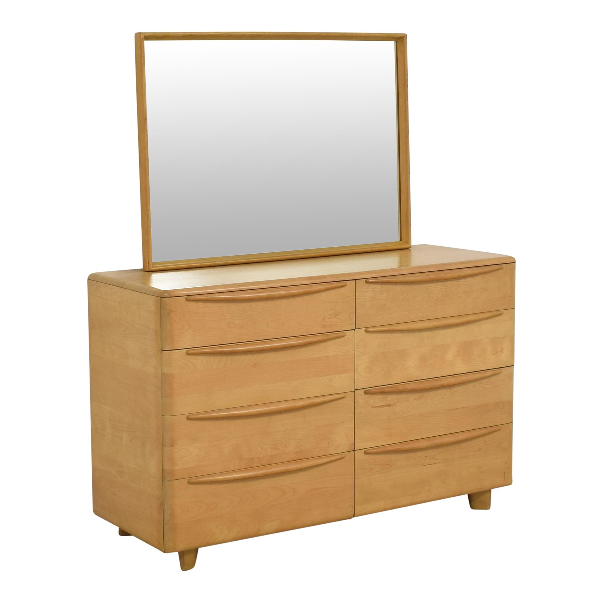 Heywood-Wakefield Heywood-Wakefield Encore Eight Drawer Dresser with Mirror used