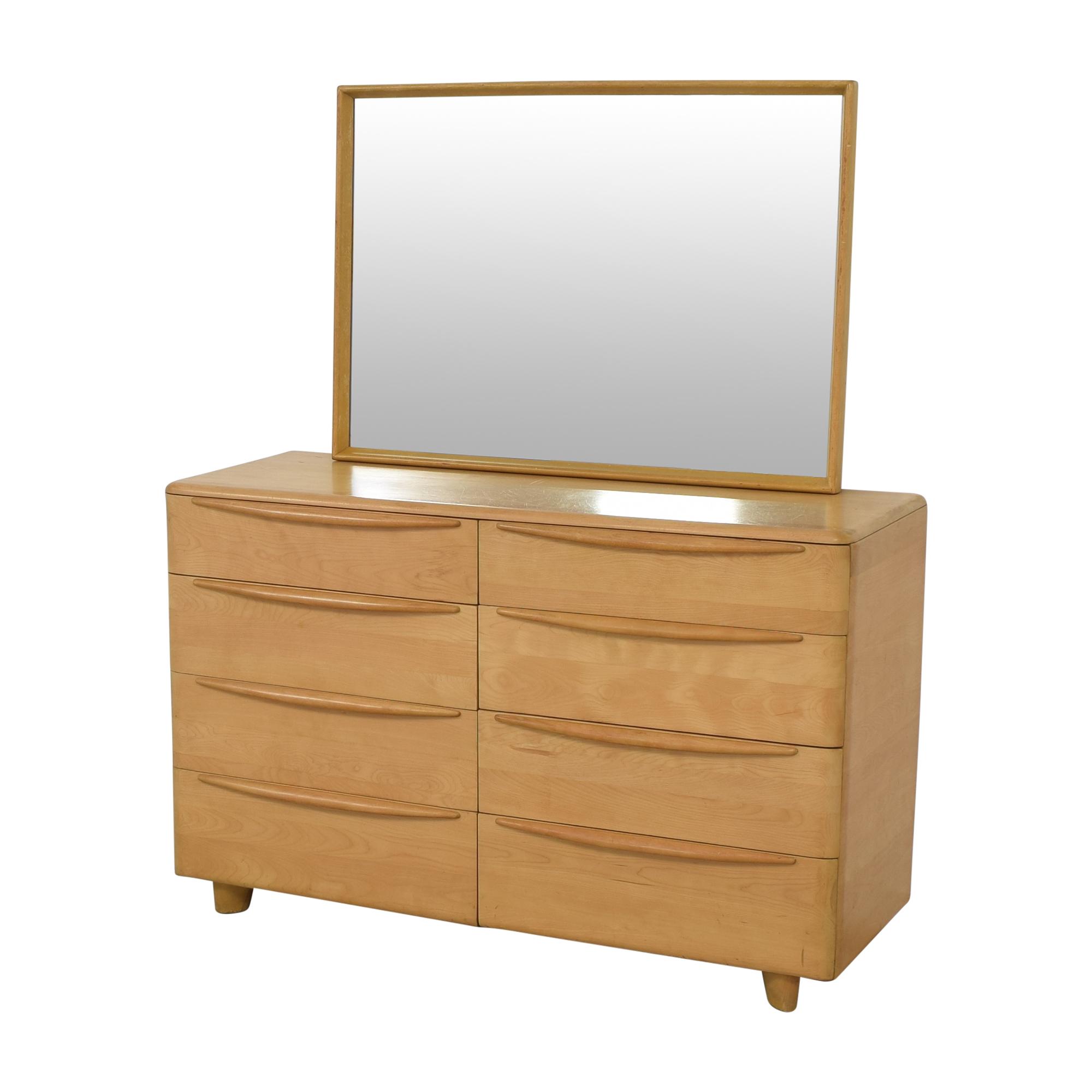 shop Heywood-Wakefield Heywood-Wakefield Encore Eight Drawer Dresser with Mirror online