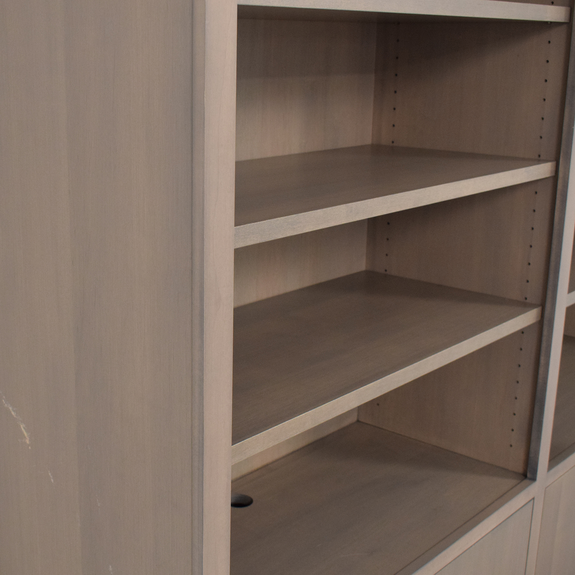 Room & Board Room & Board Custom Woodwind Bookcase with Doors second hand