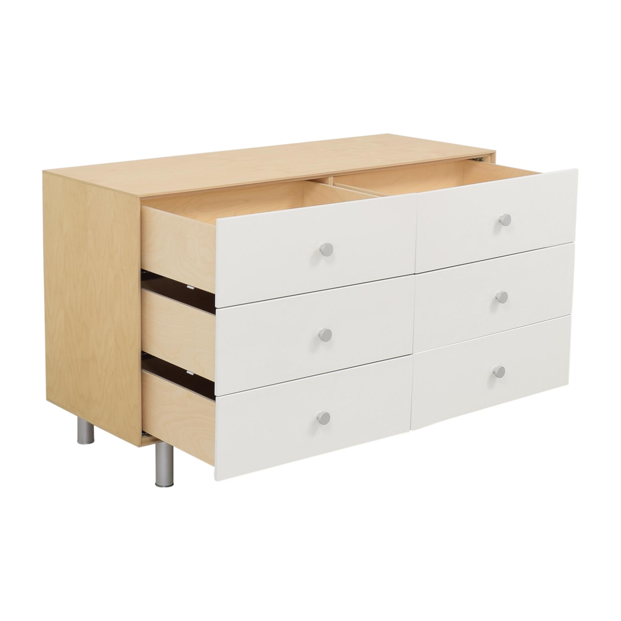 Oeuf Oeuf Merlin Rhea 6 Drawer Dresser dimensions