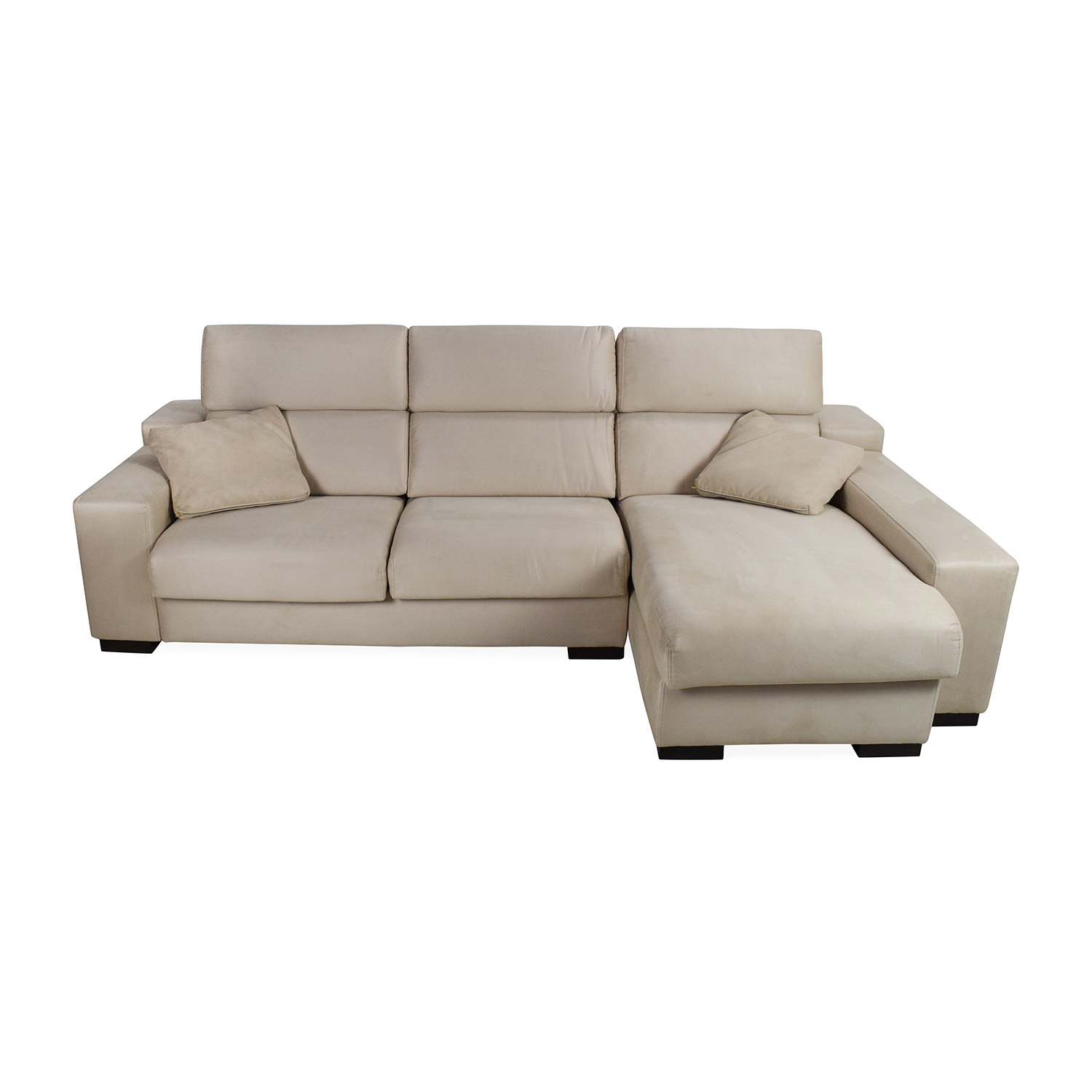 buy Fama Lotus Sofa With Chaise Fama Sectionals