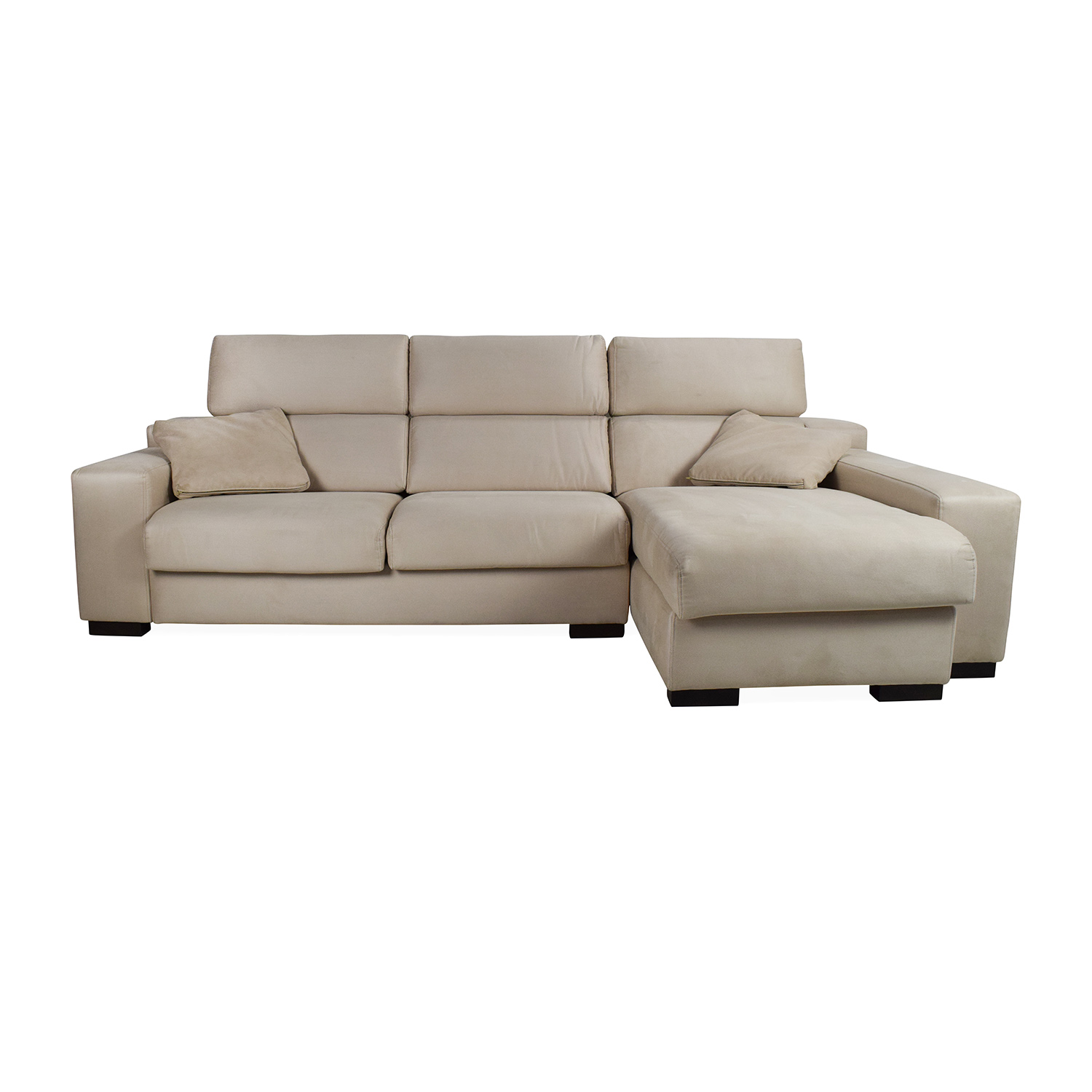 shop Fama Lotus Sofa With Chaise Fama Sectionals