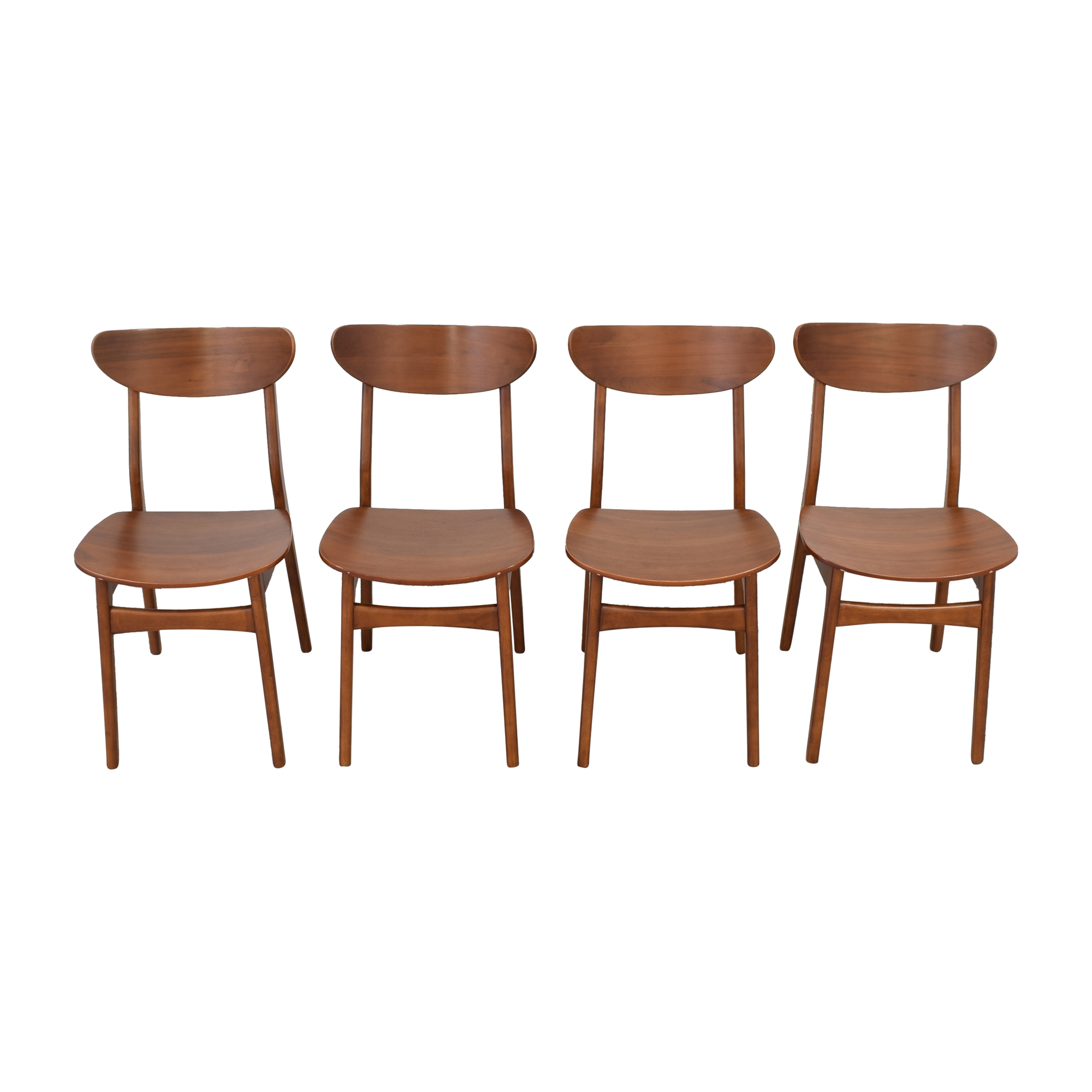 West Elm West Elm Classic Cafe Dining Chairs for sale