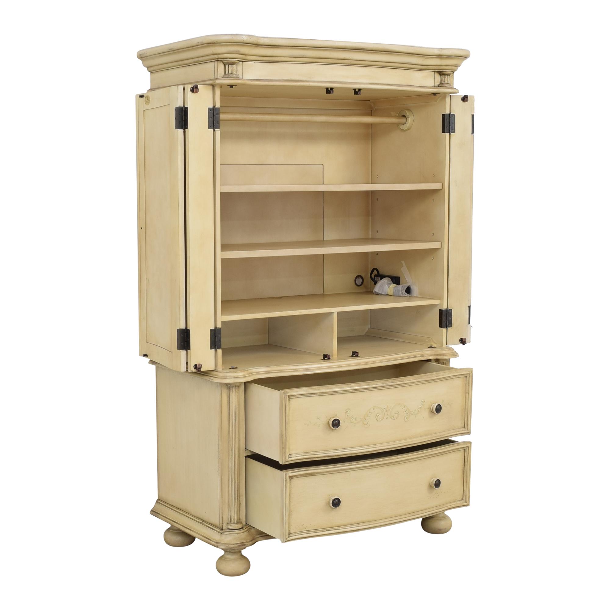 shop Hooker Furniture Seven Seas Armoire Hooker Furniture Storage