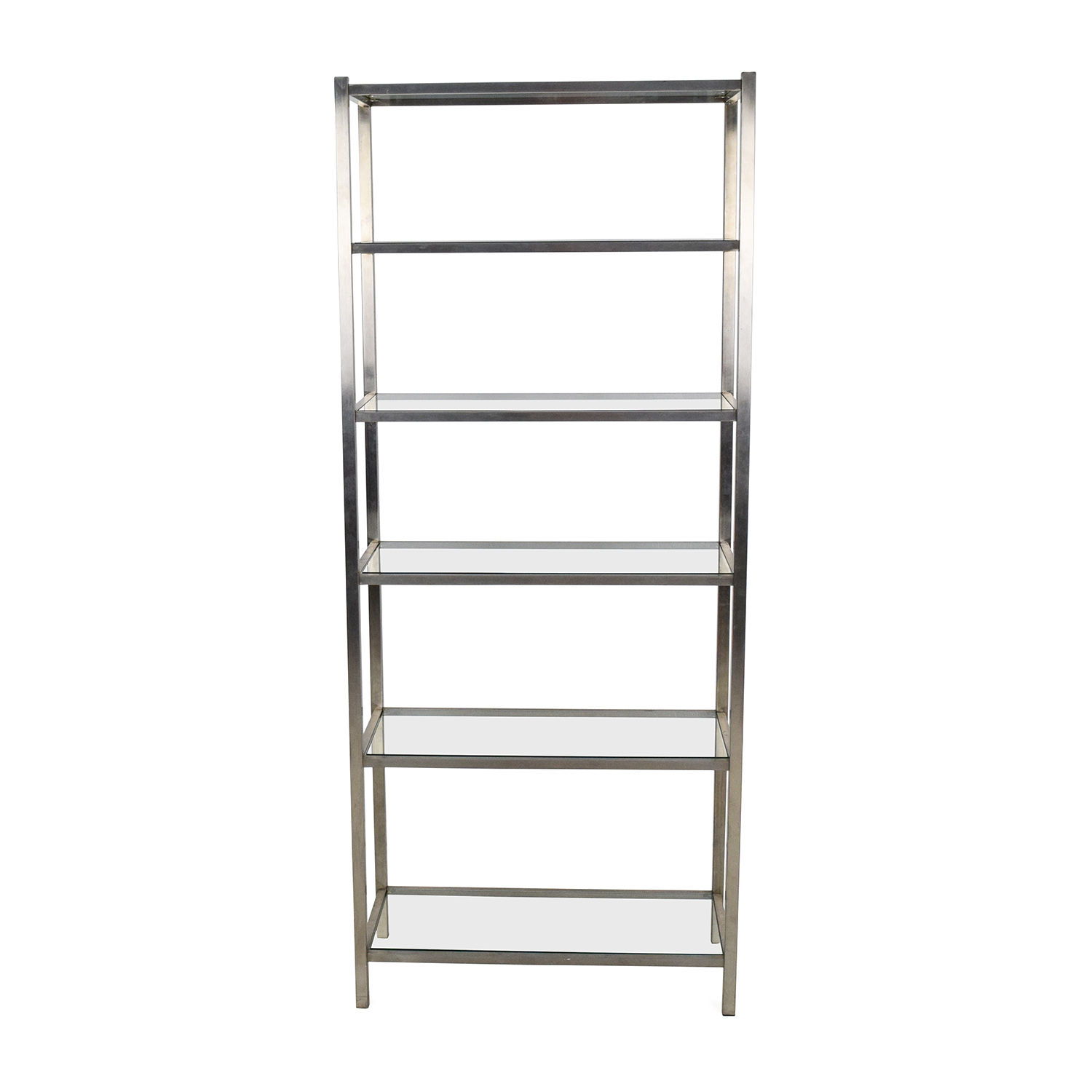 Room and Board Room and Board Glass Bookshelf discount