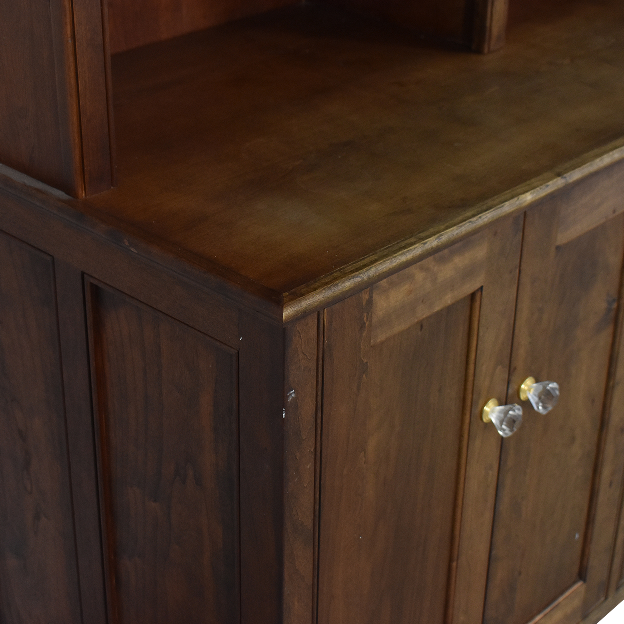 Vintage Cabinet with Bookshelf discount