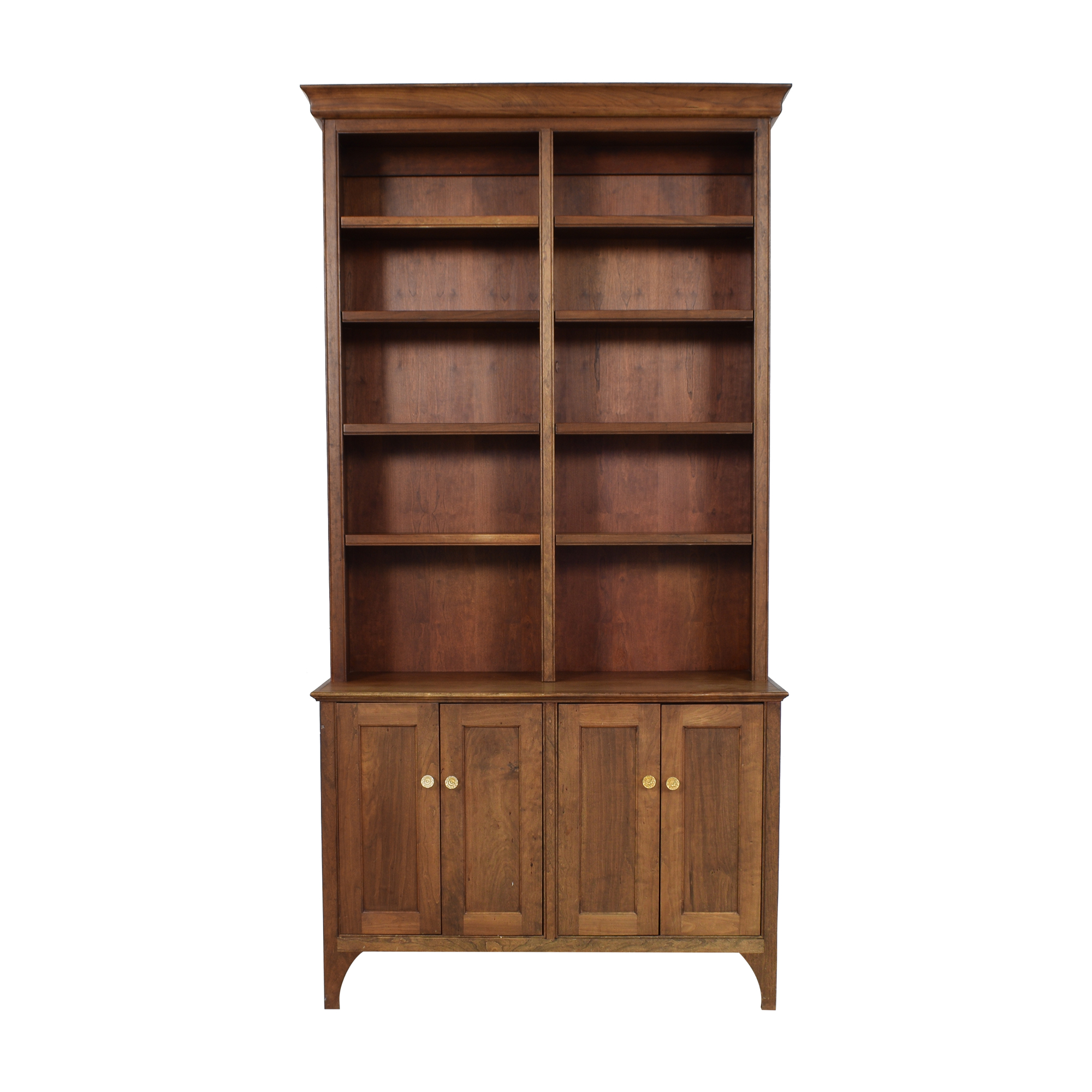shop Vintage Cabinet with Bookshelf