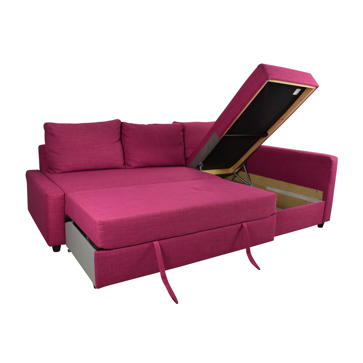 pink sofa ikea 66 off ikea friheten pink sleeper sofa sofas thesofa. Black Bedroom Furniture Sets. Home Design Ideas