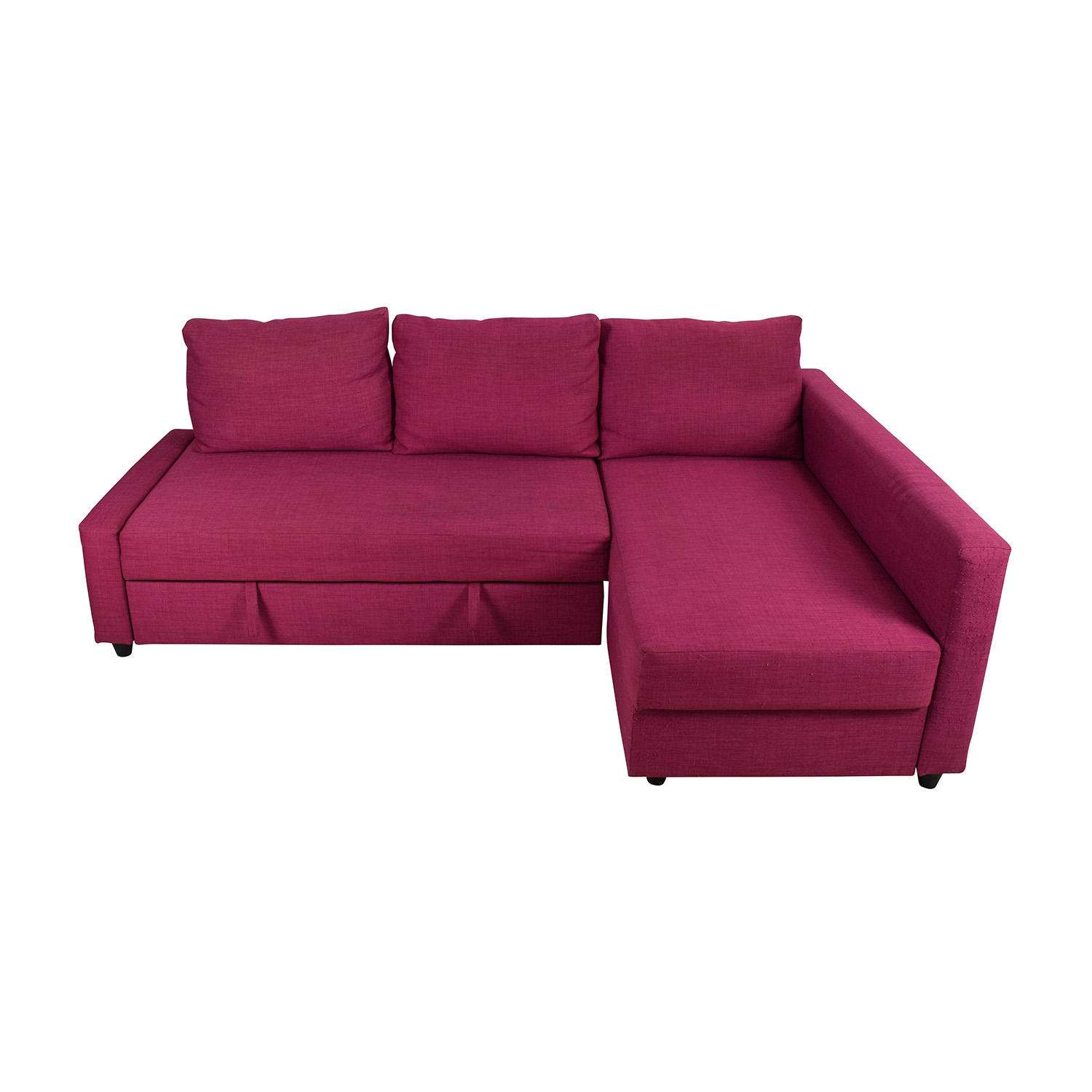66 off ikea ikea friheten pink sleeper sofa sofas for Sofas