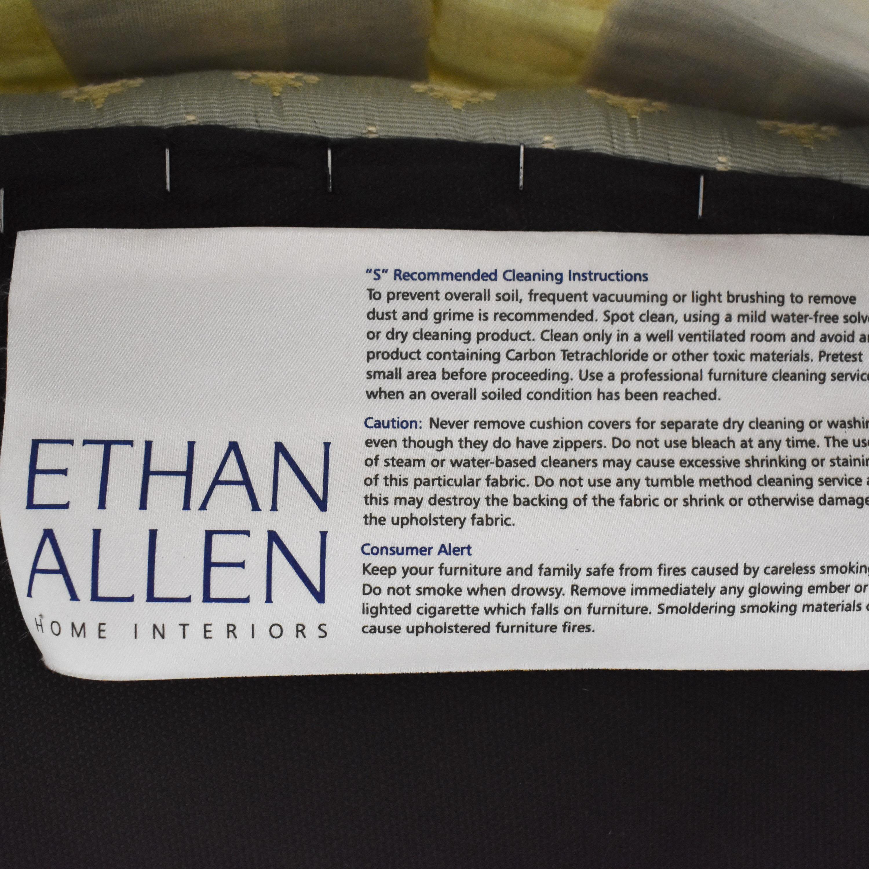 Ethan Allen Ethan Allen Upholstered Ottoman Ottomans