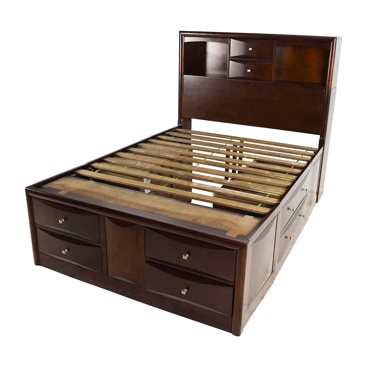 56 off roundhill furniture roundhill furniture emily Full size storage bed