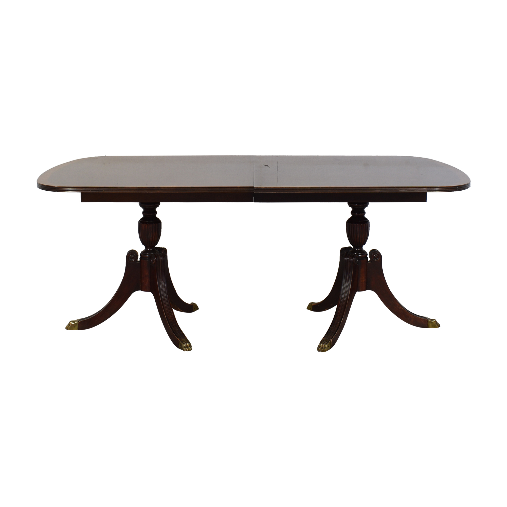 Extendable Dining Room Table used