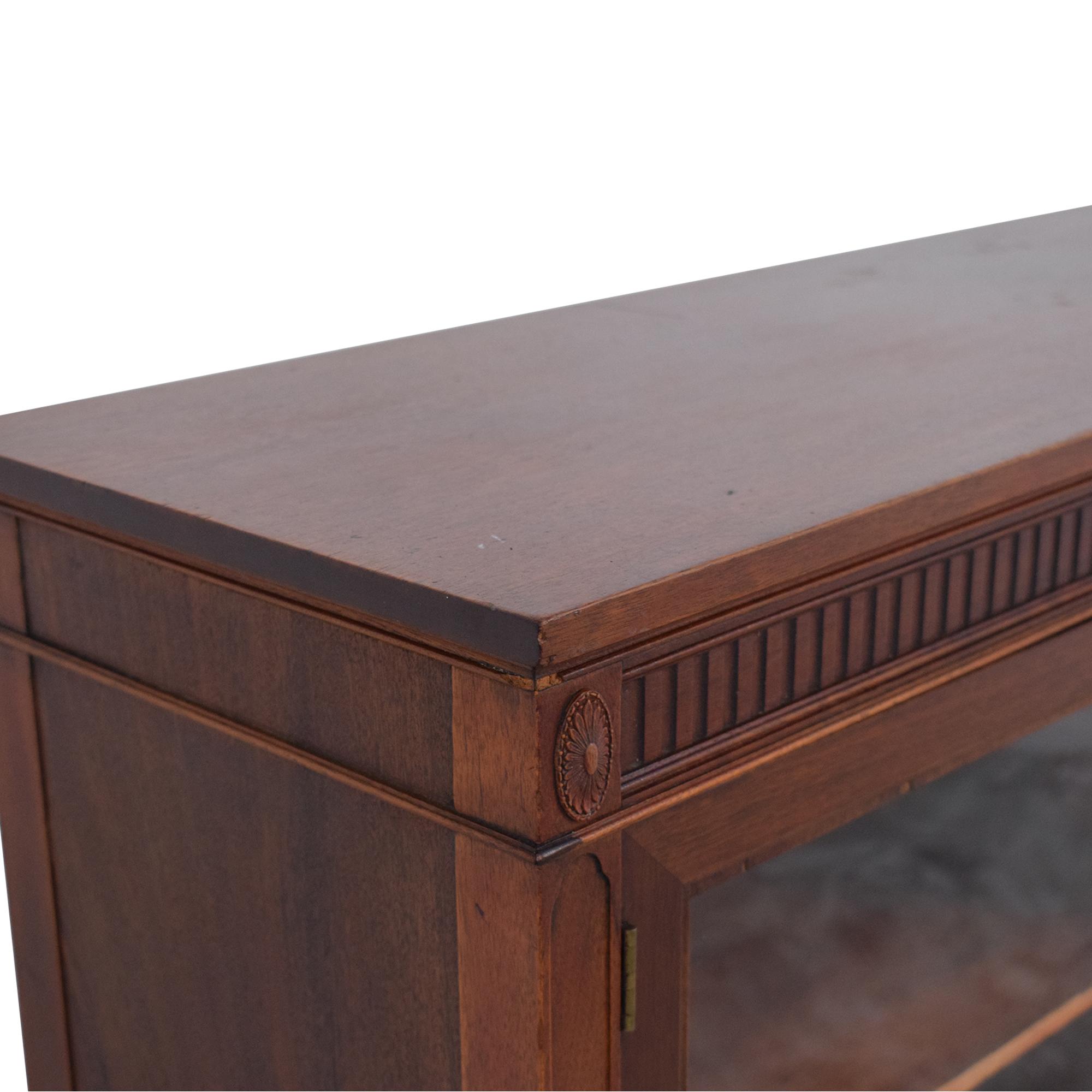 buy Double Door Curio Cabinet  Storage