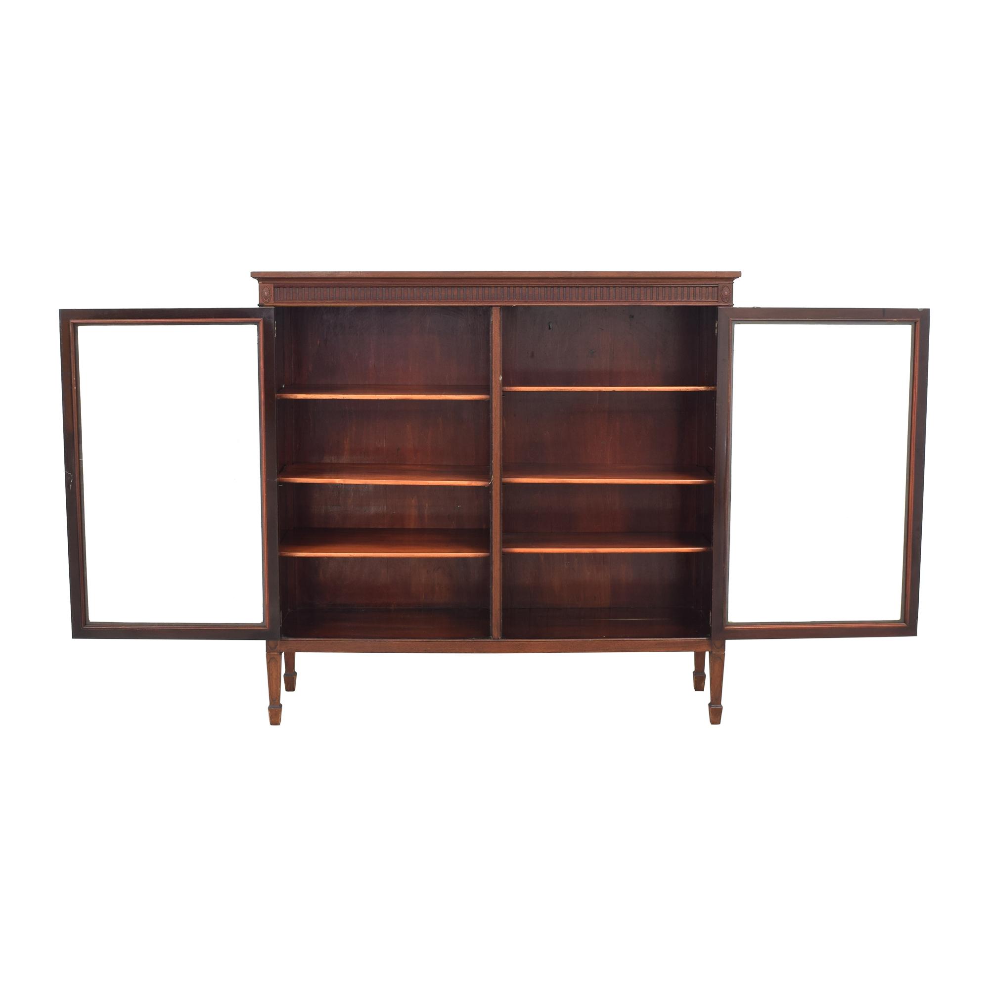 Double Door Curio Cabinet ma