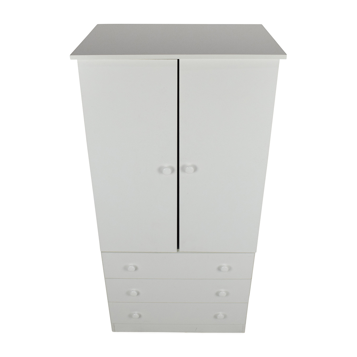 shop Prepac White Armoire  Prepac Wardrobes & Armoires