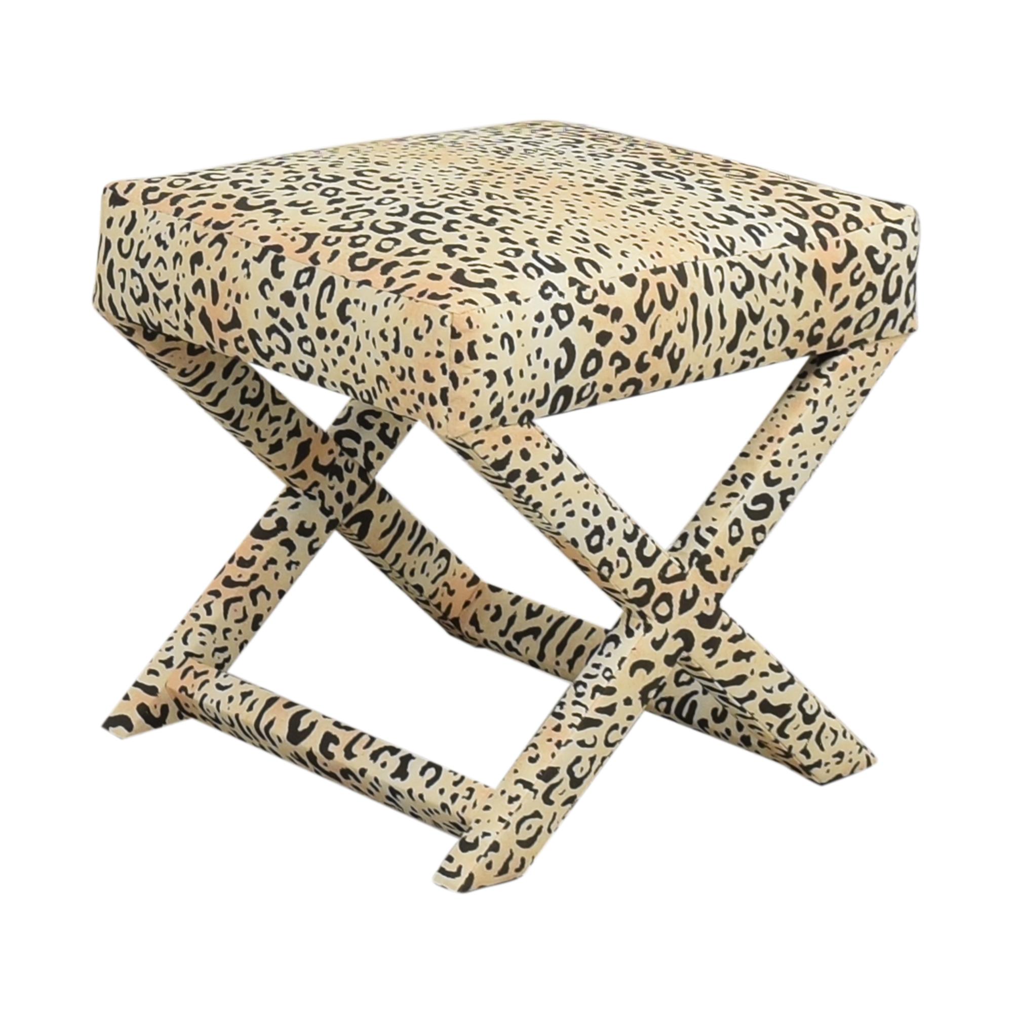 The Inside X-Bench in Leopard sale