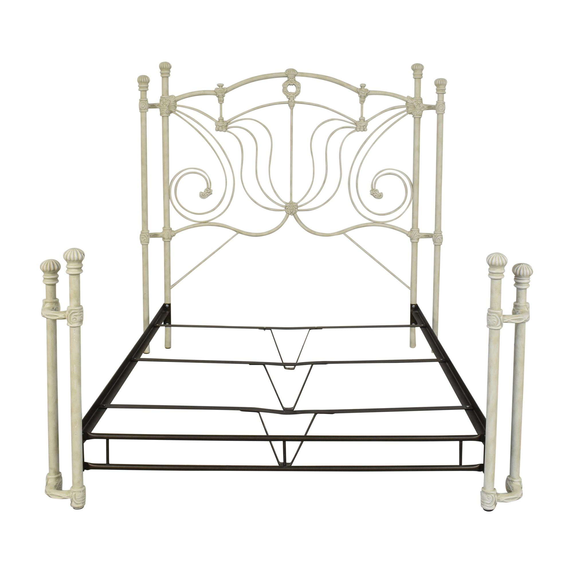 Wesley Allen Wesley Allen Wrought Iron Full Size Bed