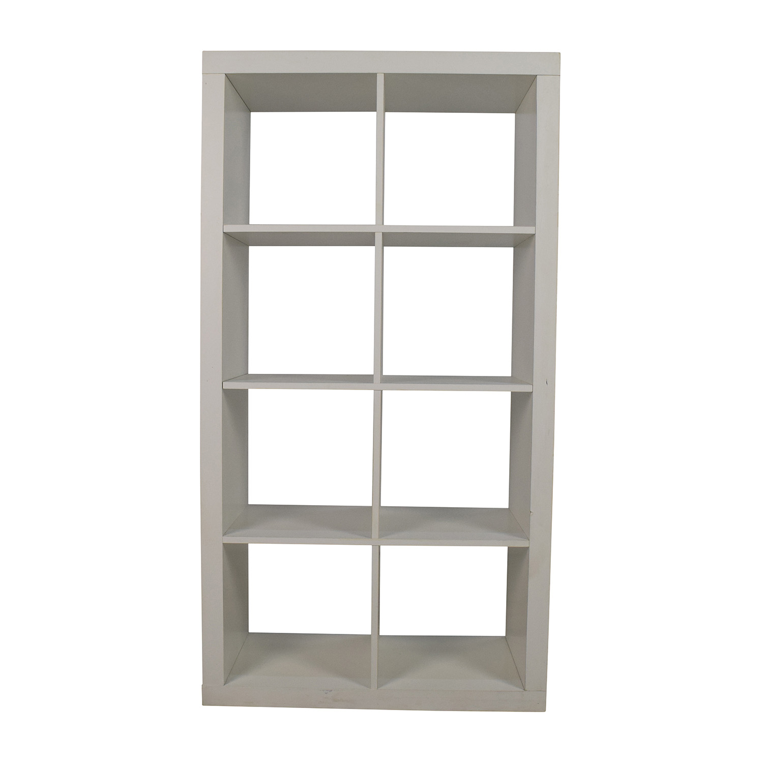 Better Homes & Gardens White Geometric Bookshelf / Sofas