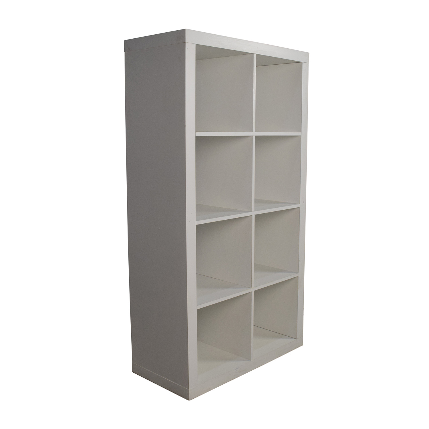 53 Off Better Homes And Gardens Better Homes Gardens White Geometric Bookshelf Storage