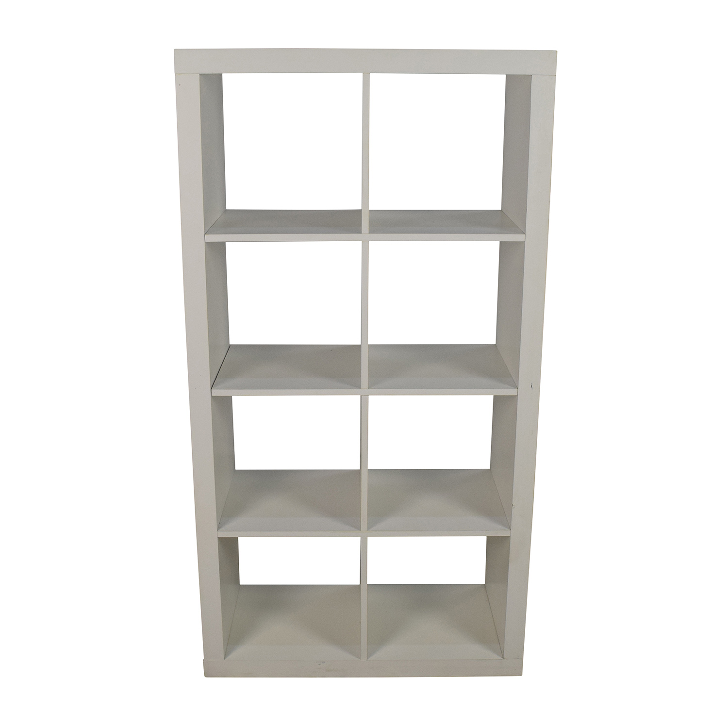 Better Homes and Gardens Better Homes & Gardens White Geometric Bookshelf used