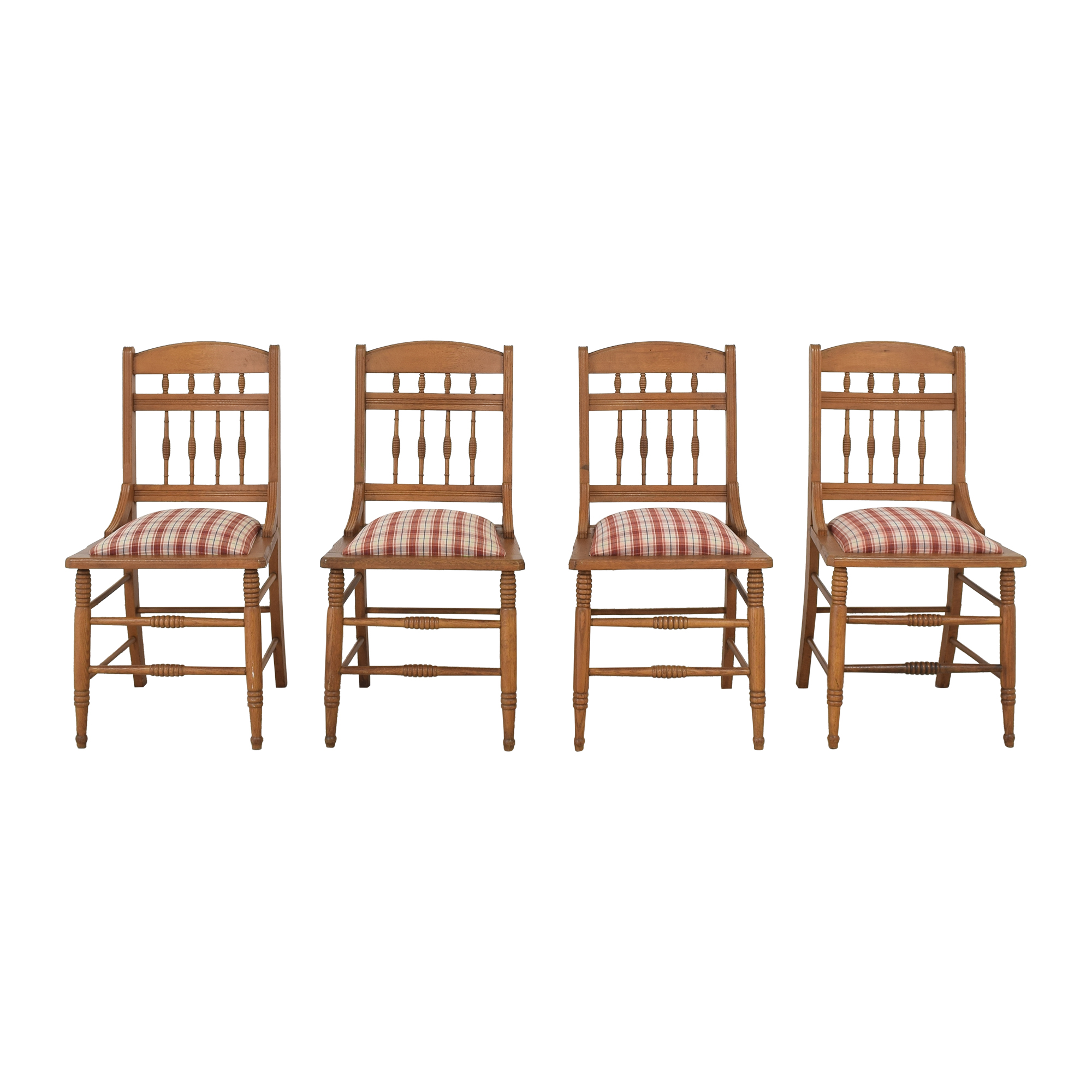 Upholstered Wood Framed Dining Chairs nj