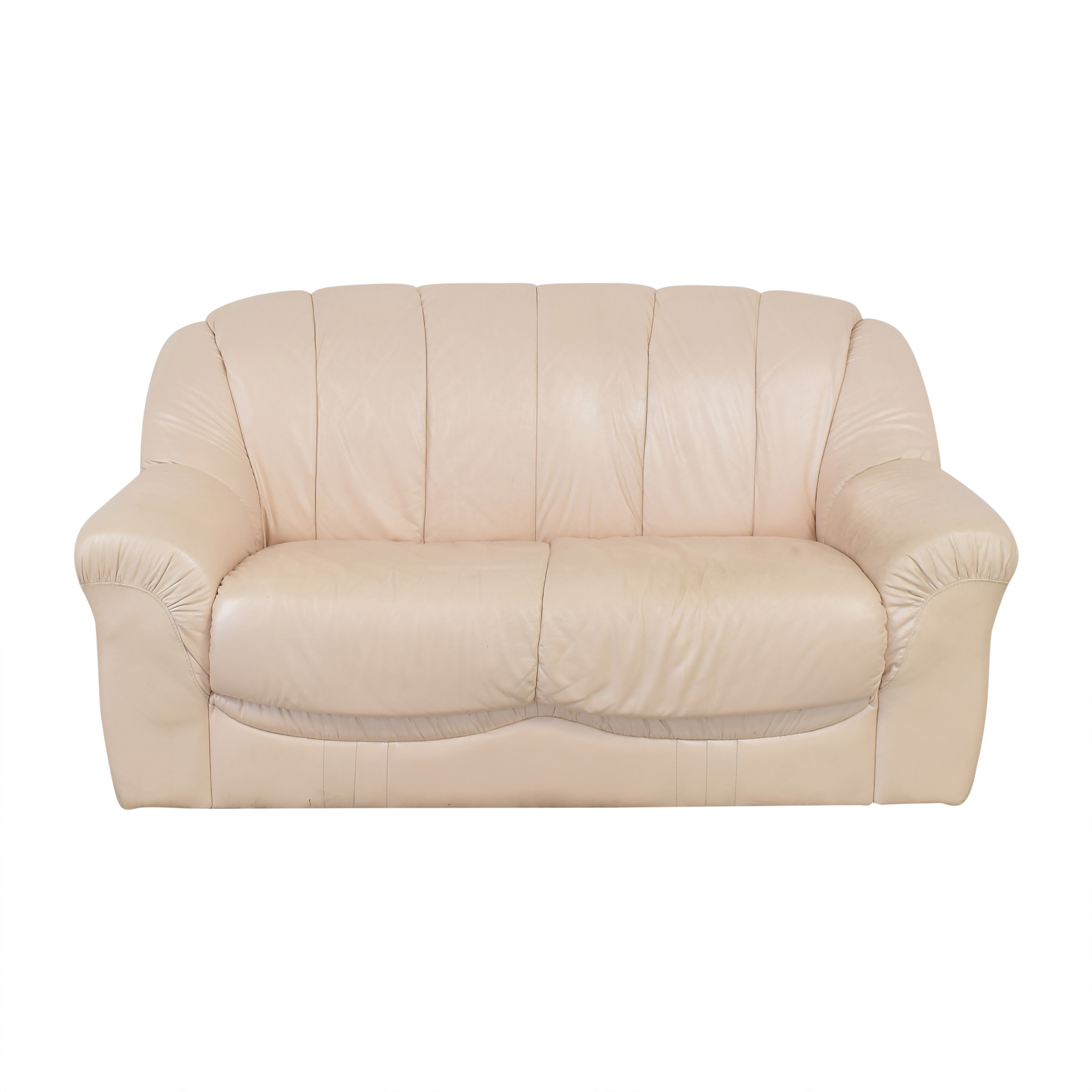Roma Furniture Roma Leather Loveseat for sale