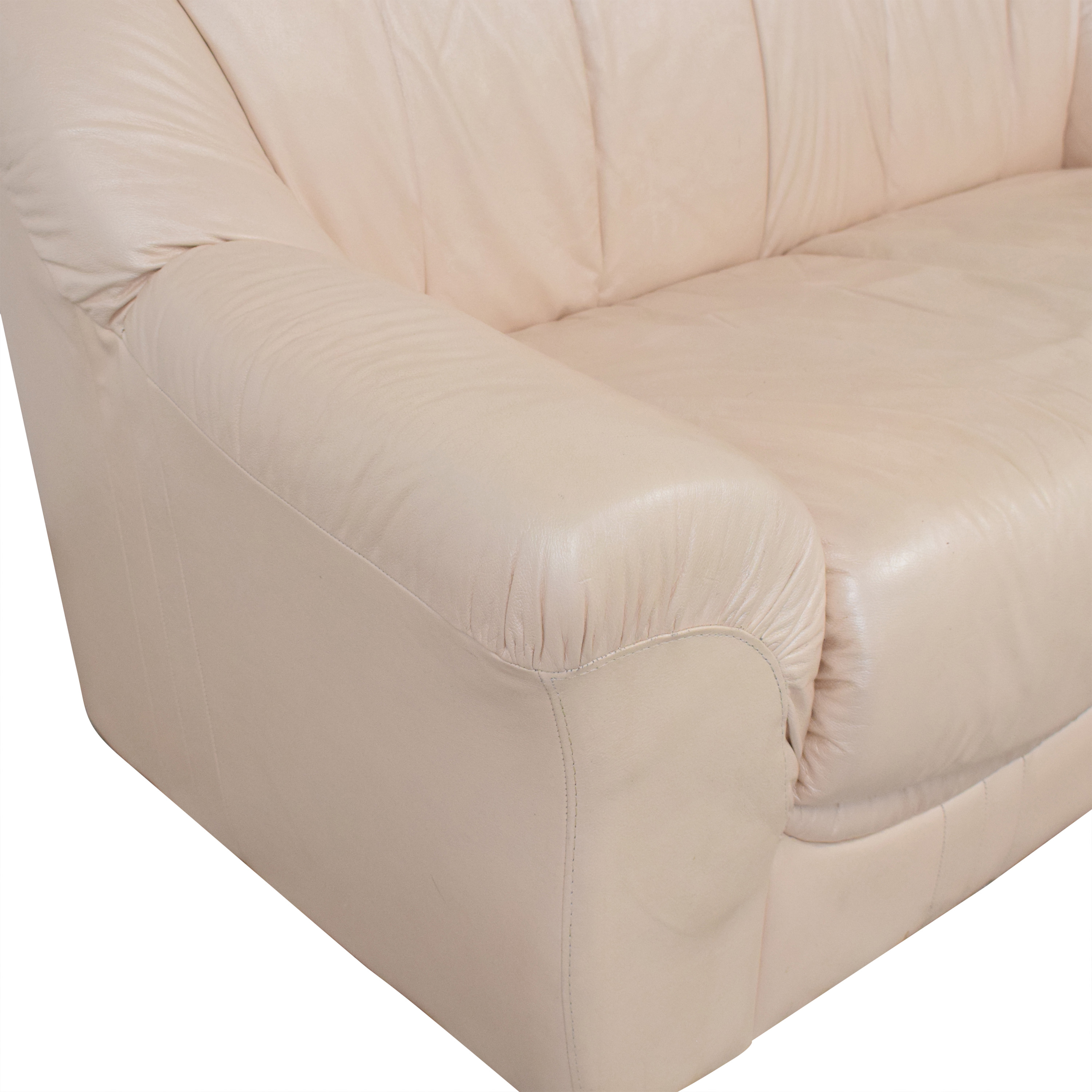shop Roma Leather Loveseat Roma Furniture Sofas