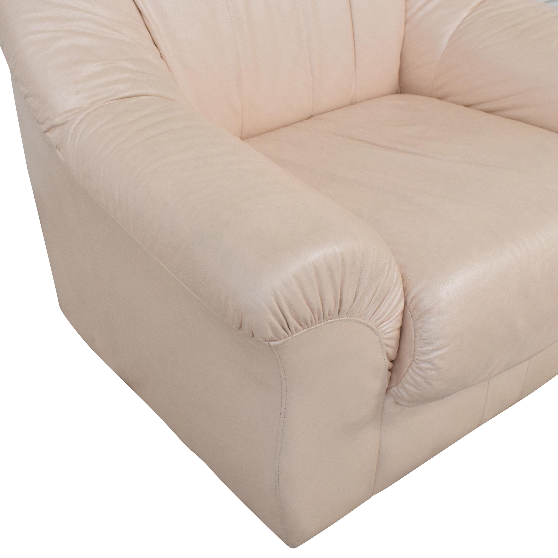 Roma Furniture Roma Italian Armchair on sale