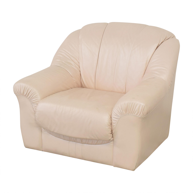 Roma Furniture Roma Italian Armchair nj