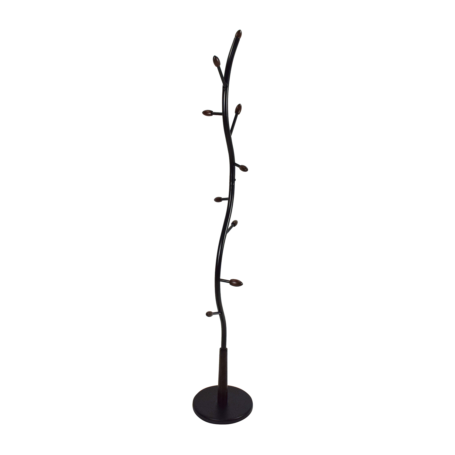 buy eHome Walnut Wood Tree Rack eHome Products
