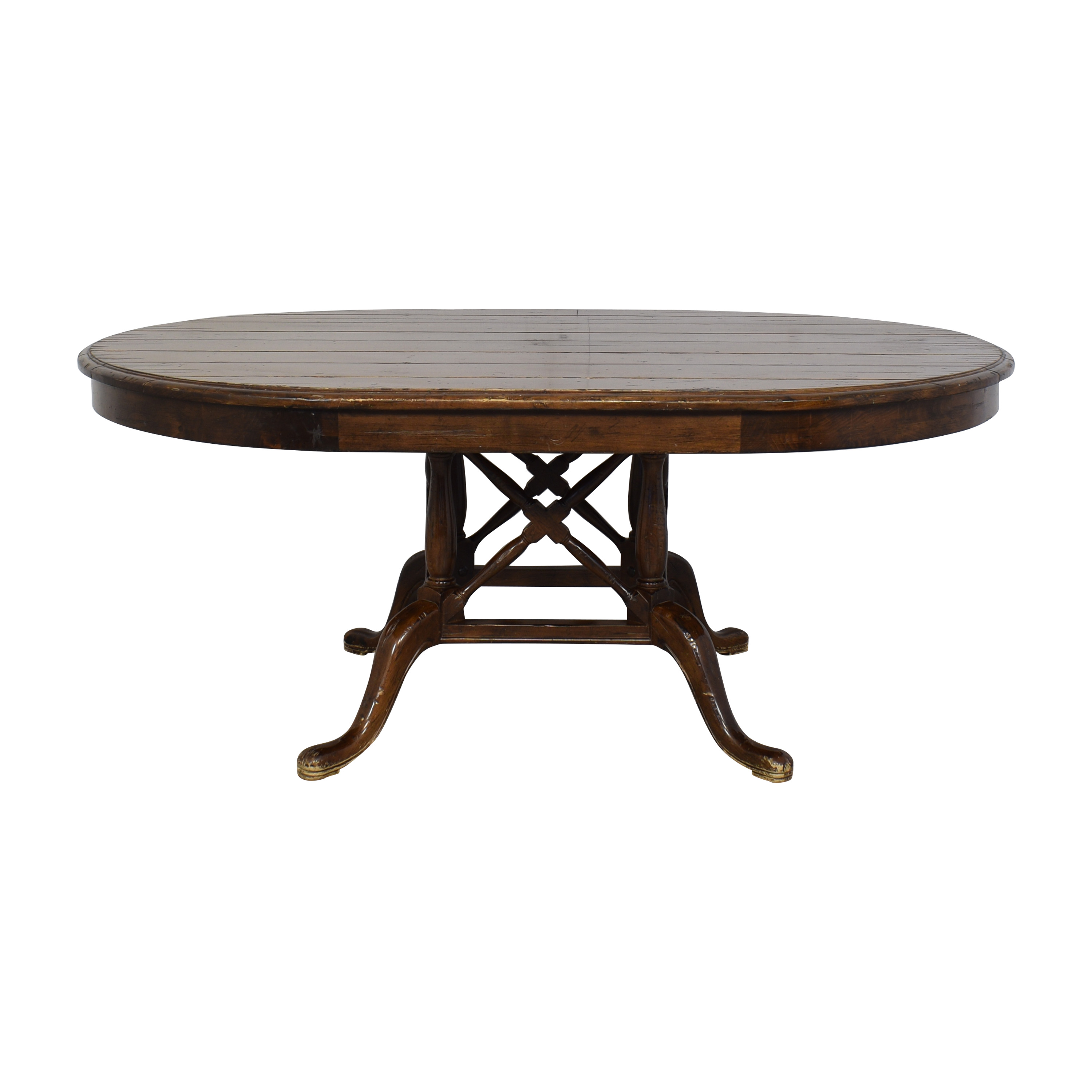 Oval Dining Table used