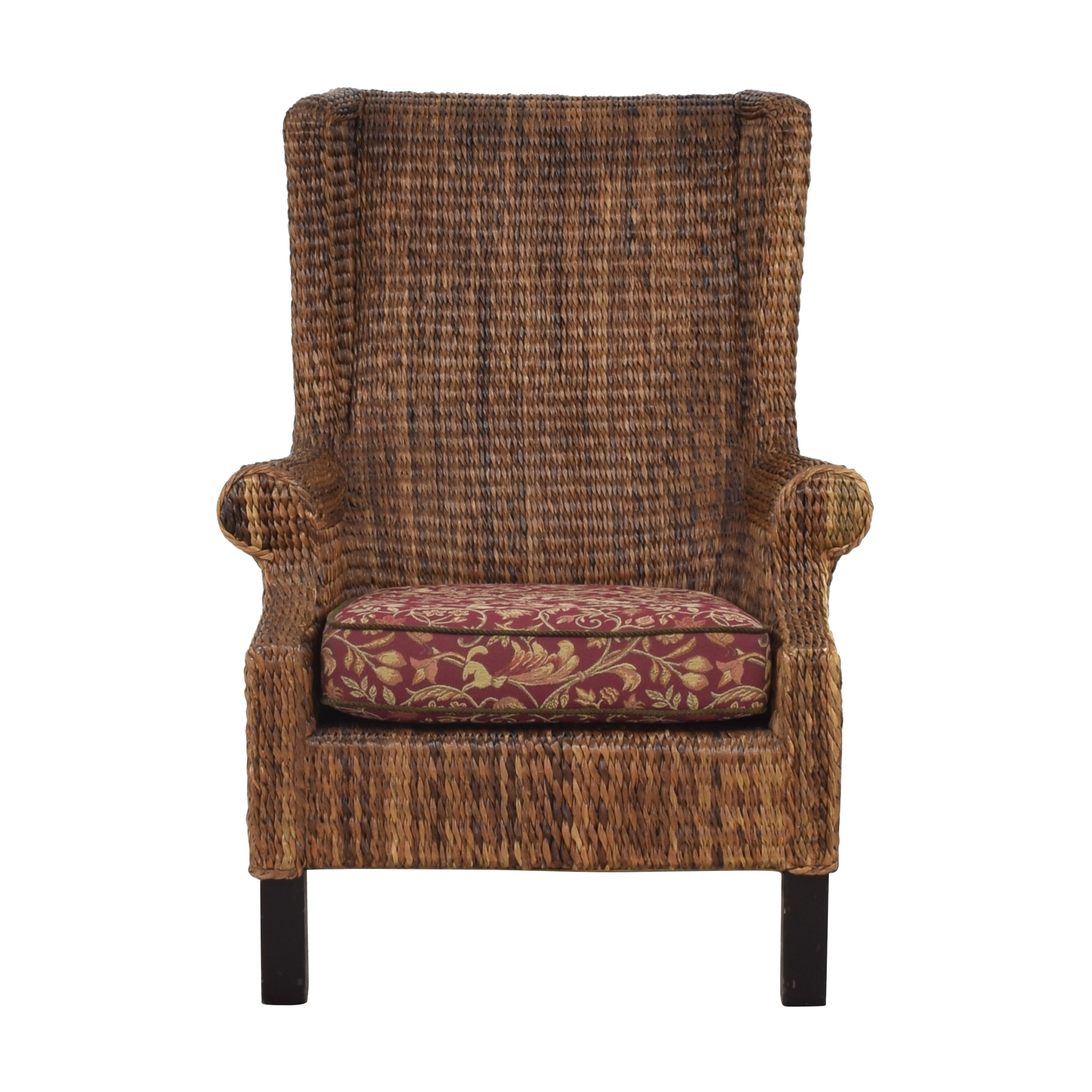 Woven Wingback Chair ct