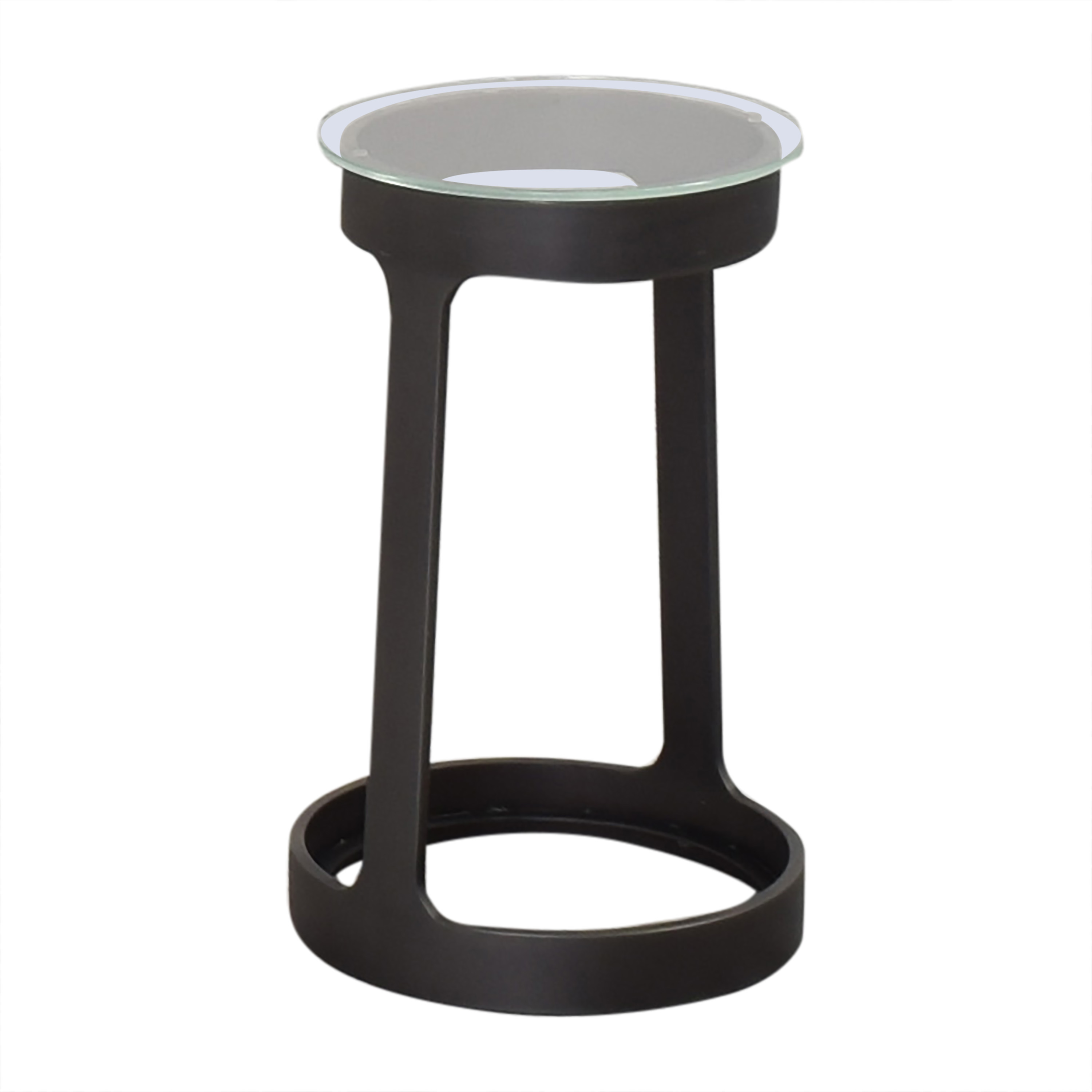 Restoration Hardware Round Cocktail Side Table