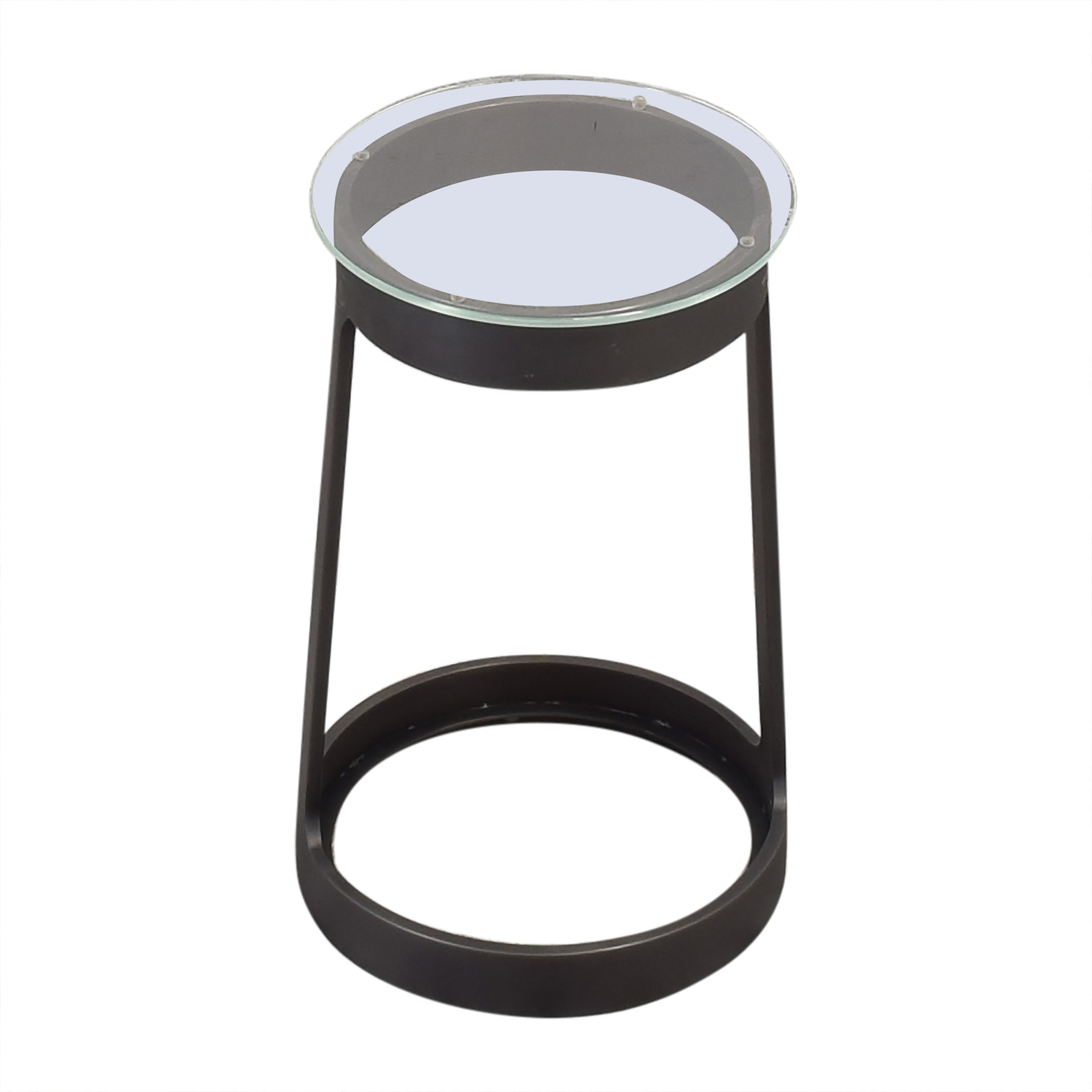 buy Round Cocktail Side Table Restoration Hardware