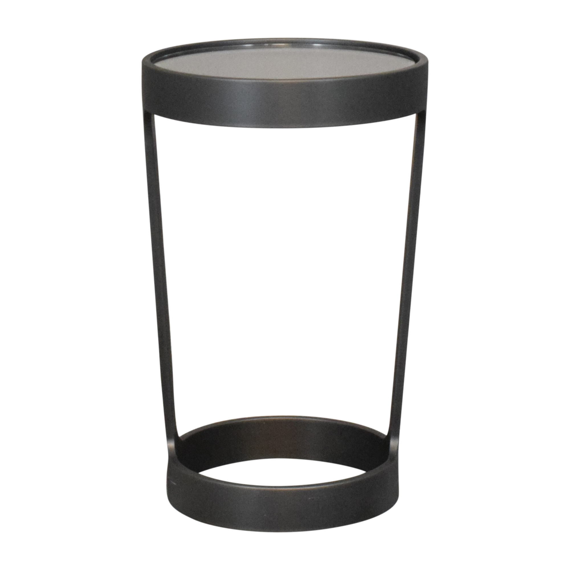 Restoration Hardware Round Cocktail Side Table ma