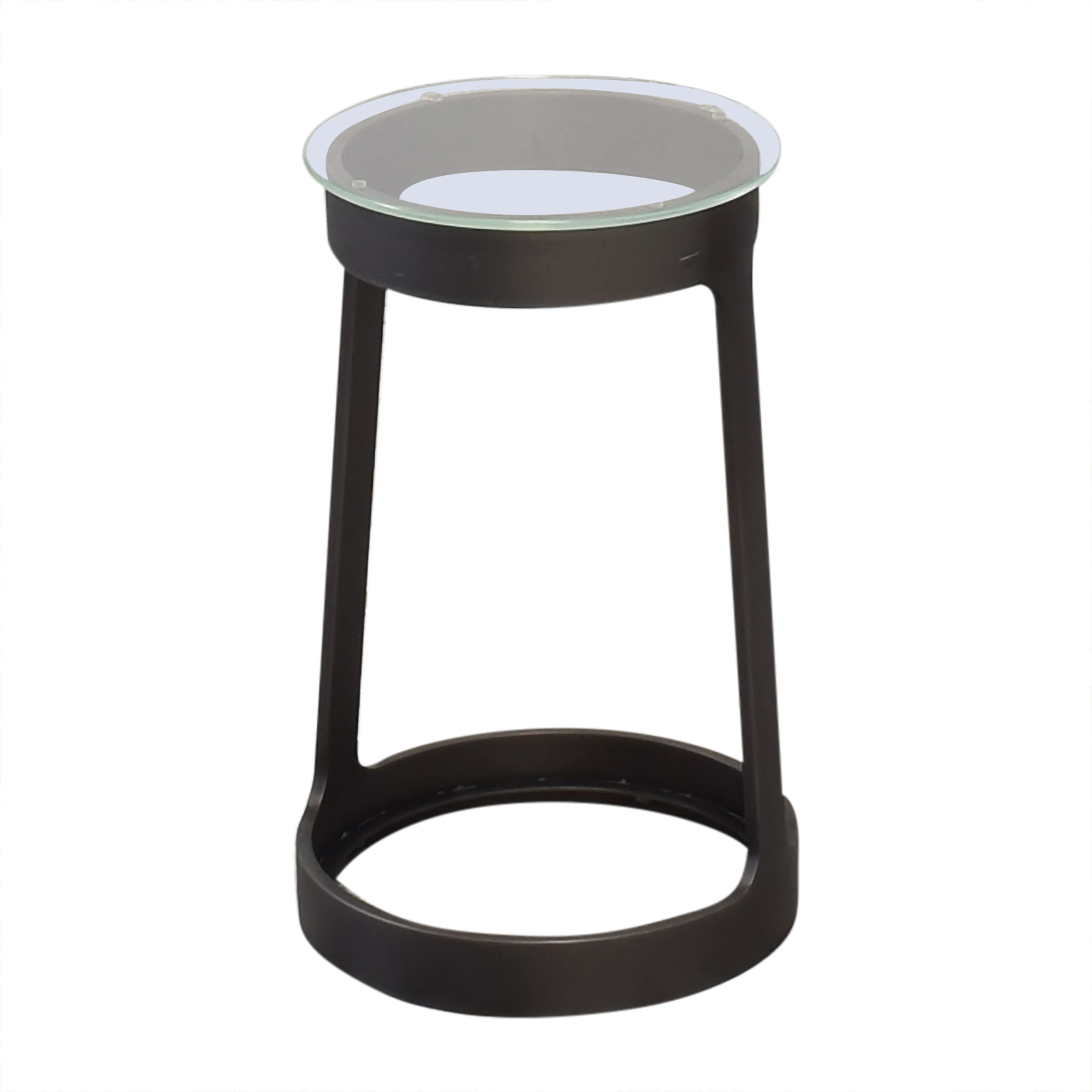 Round Cocktail Side Table Restoration Hardware