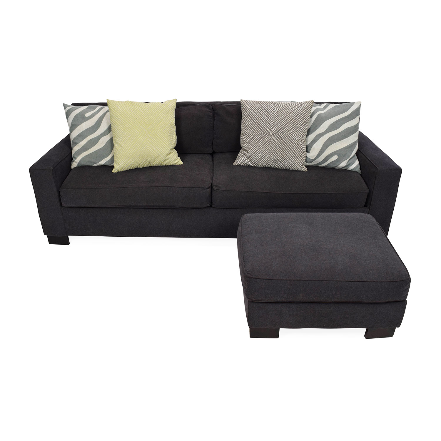 West Elm Sofa with Ottoman / Classic Sofas