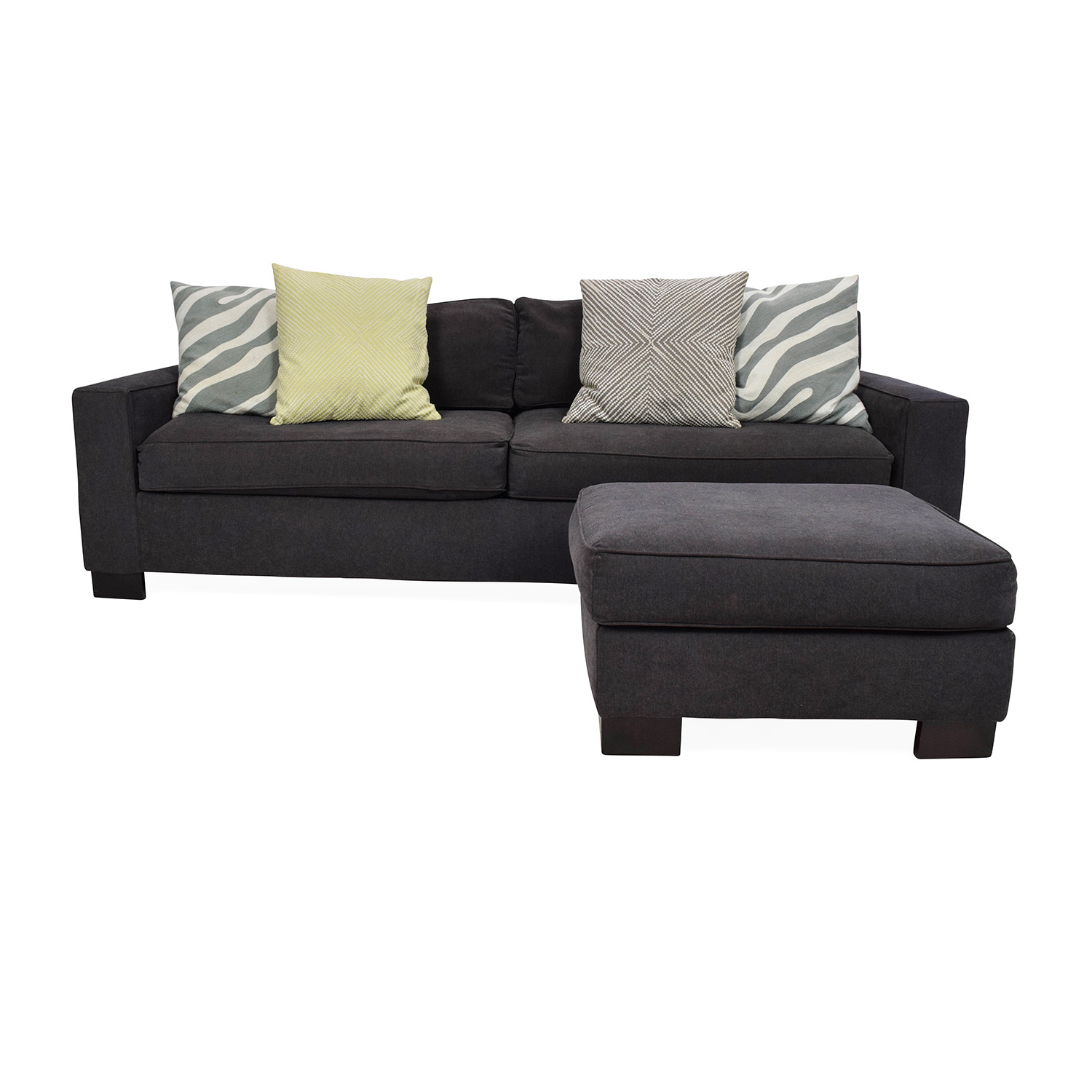 buy West Elm Sofa with Ottoman West Elm Classic Sofas