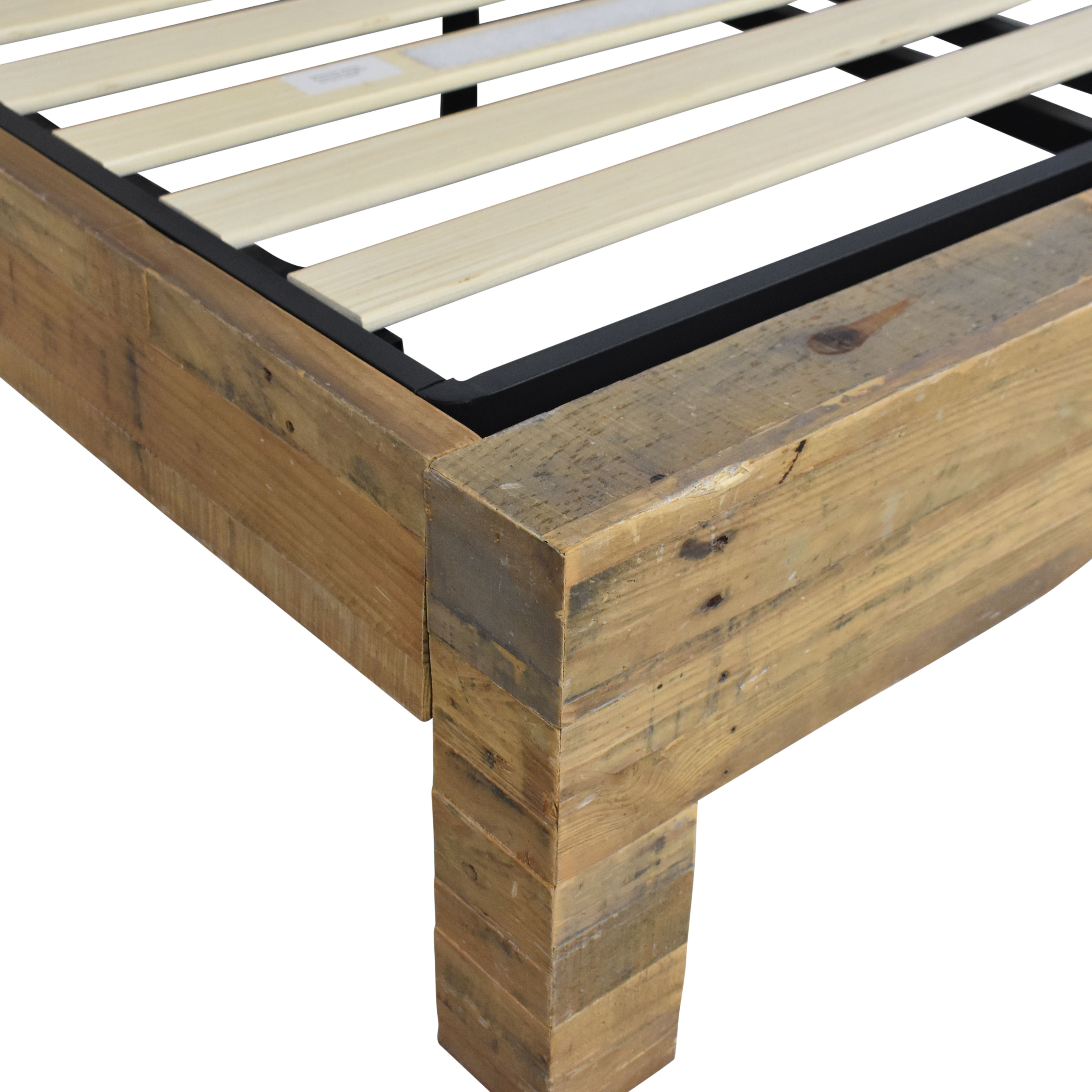 West Elm West Elm Emmerson Reclaimed Wood Queen Bed dimensions