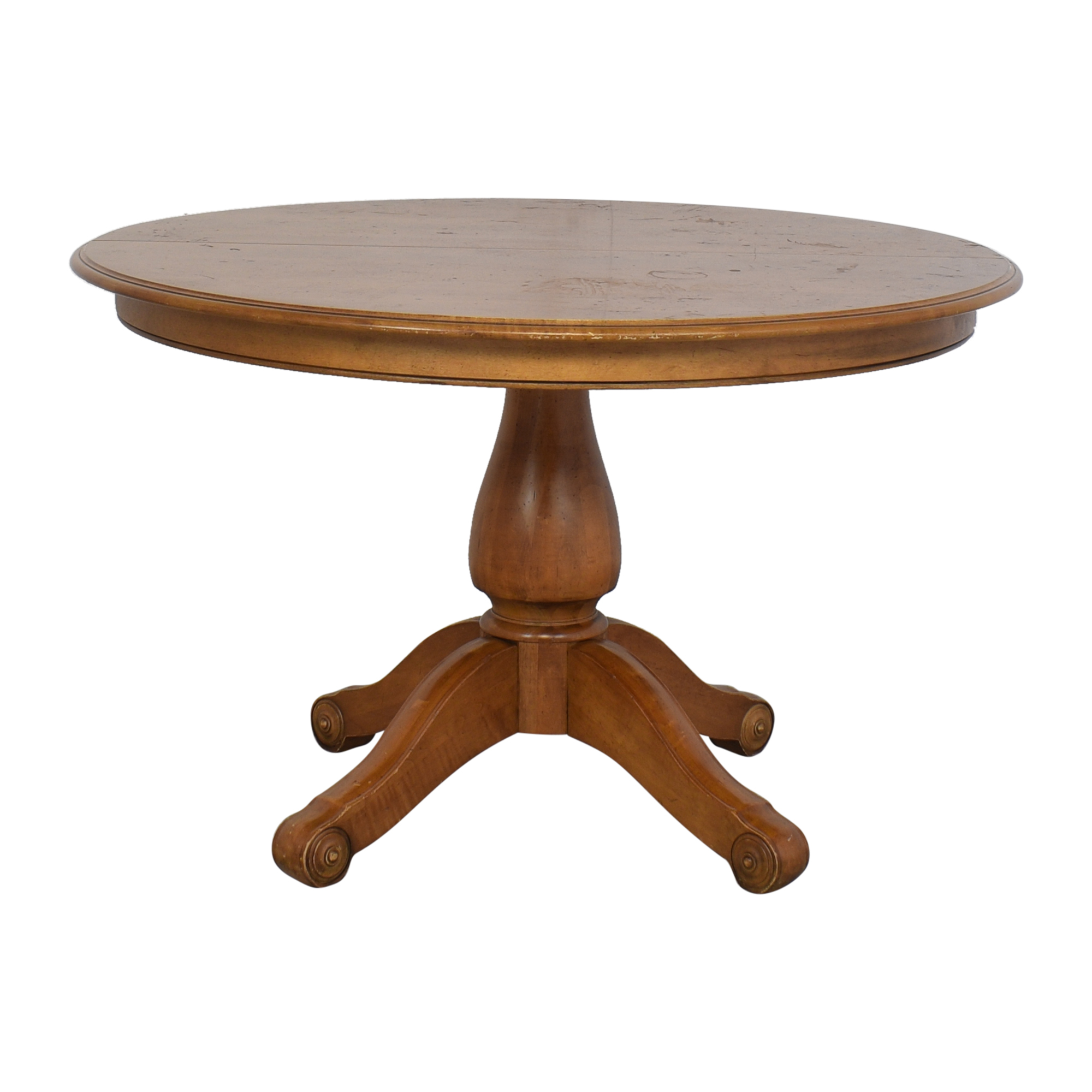 Ethan Allen Round Dining Table / Tables